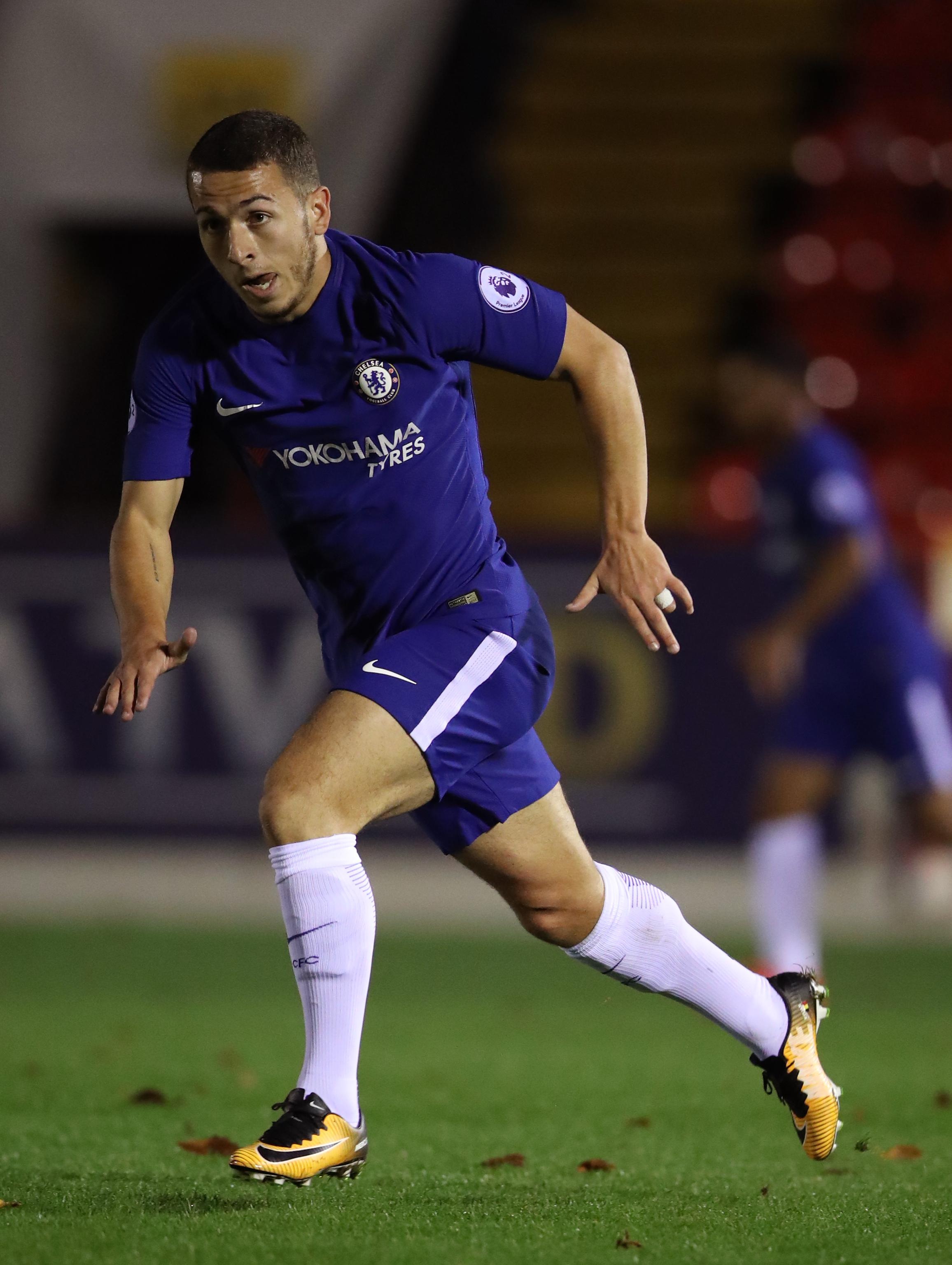 Kylian Hazard moved to Chelsea a year ago from Hungarian side FC Ujpest