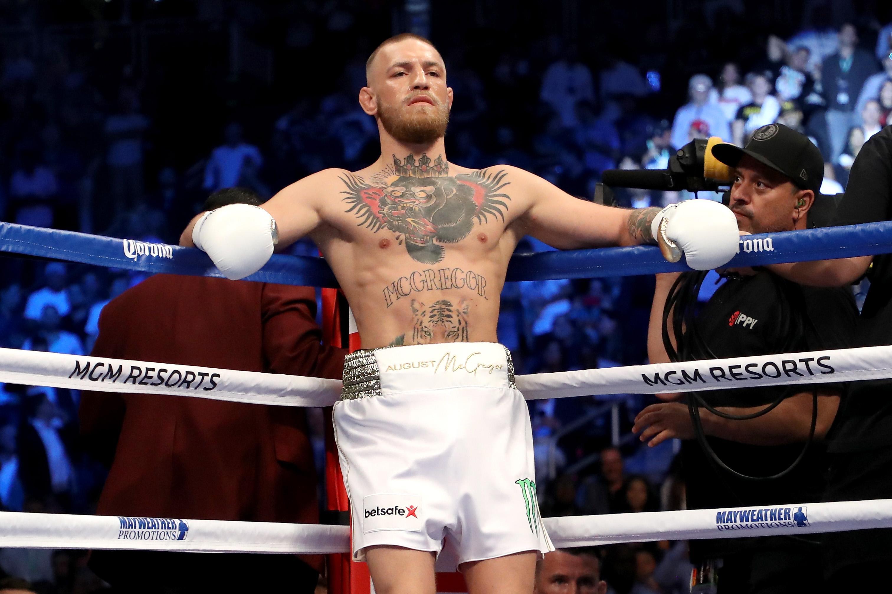 McGregor is preparing to make his UFC comeback on October 6