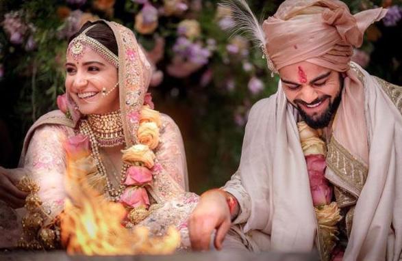 Virat Kohli married Anushka Sharma last December in Mumbai