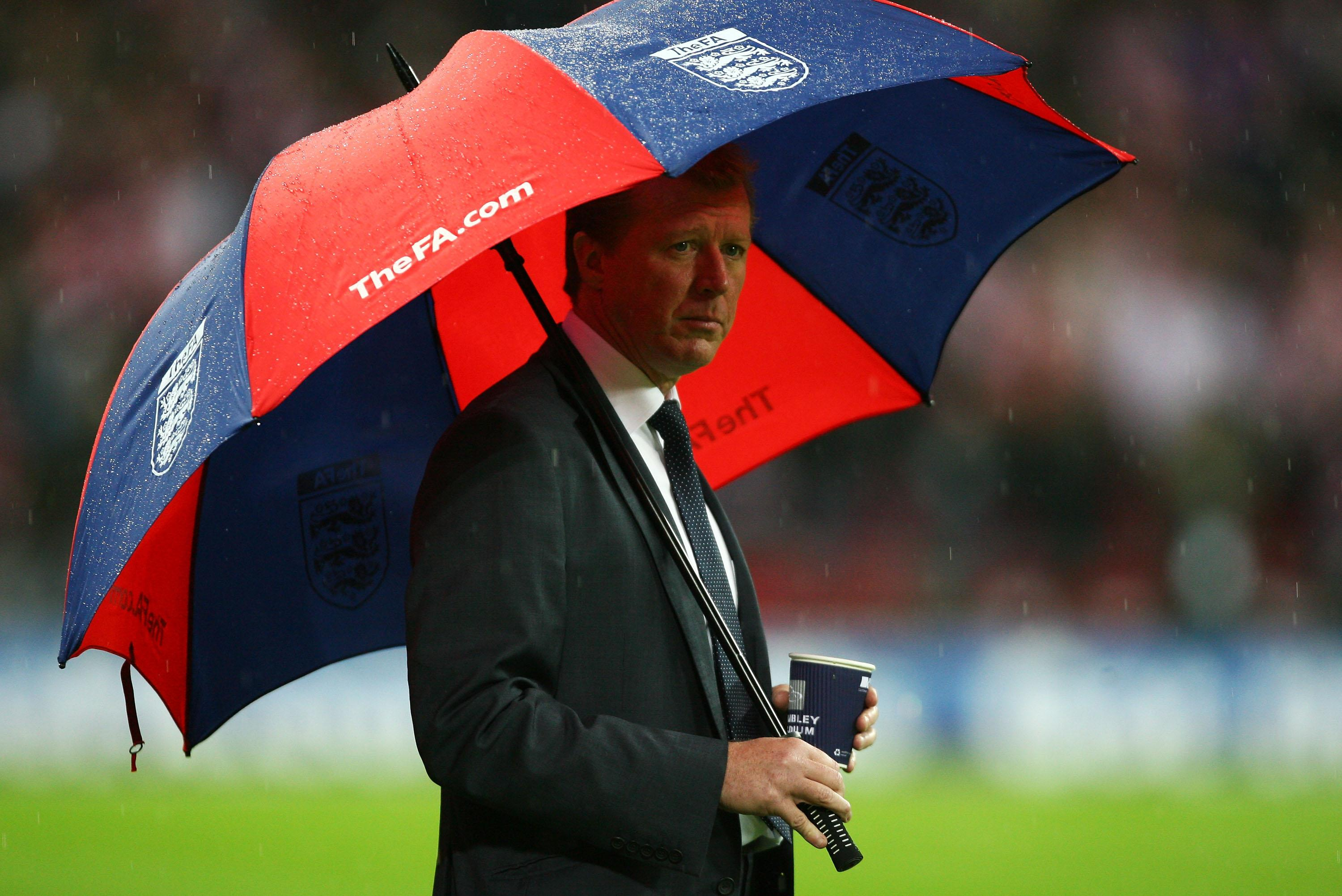 No England fan will ever forget McClaren's darkest hour in charge of the Three Lions against Croatia at Wembley