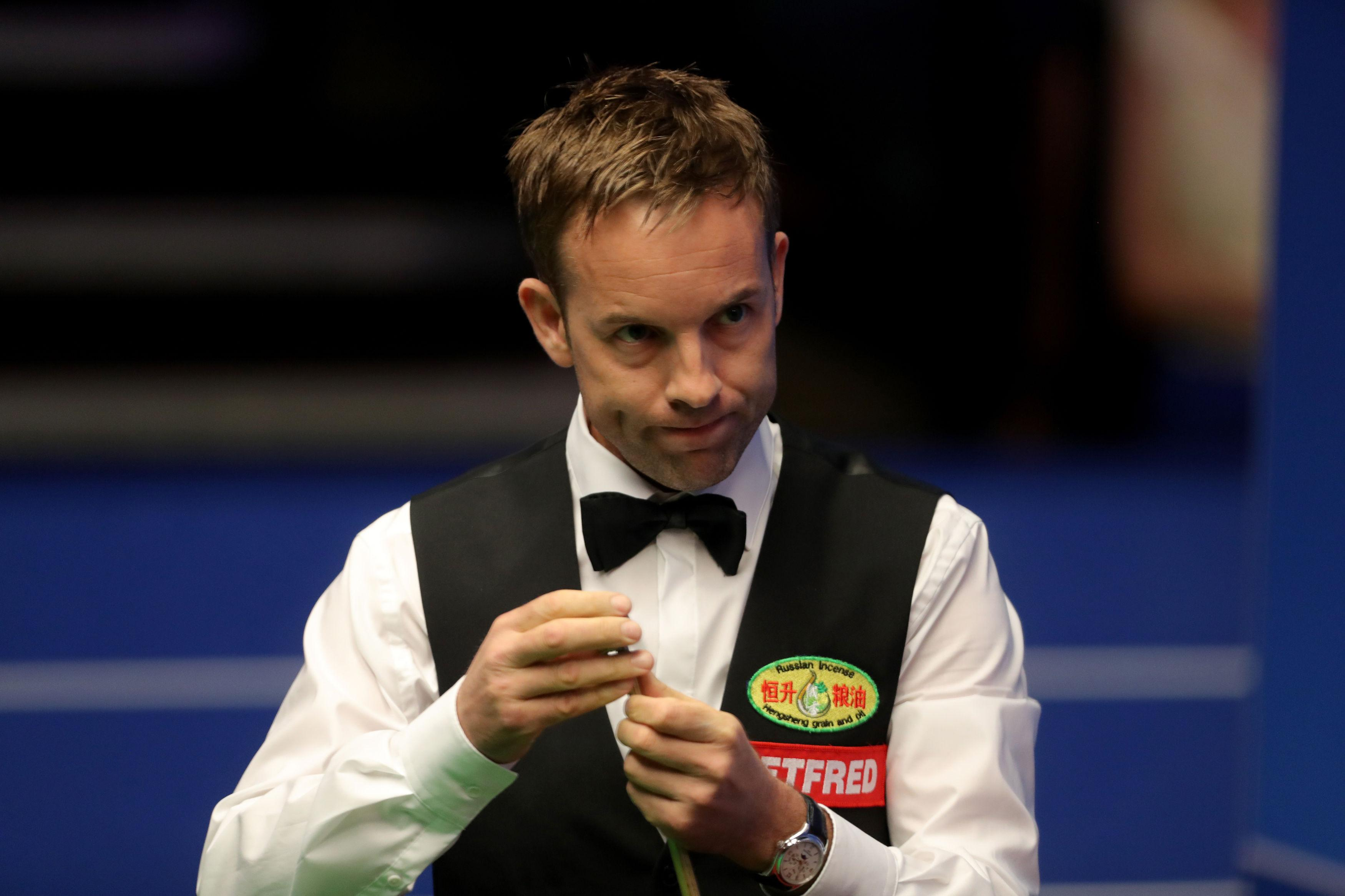 Essex player Ali Carter was one of the man that the Somerset punter backed to win in China