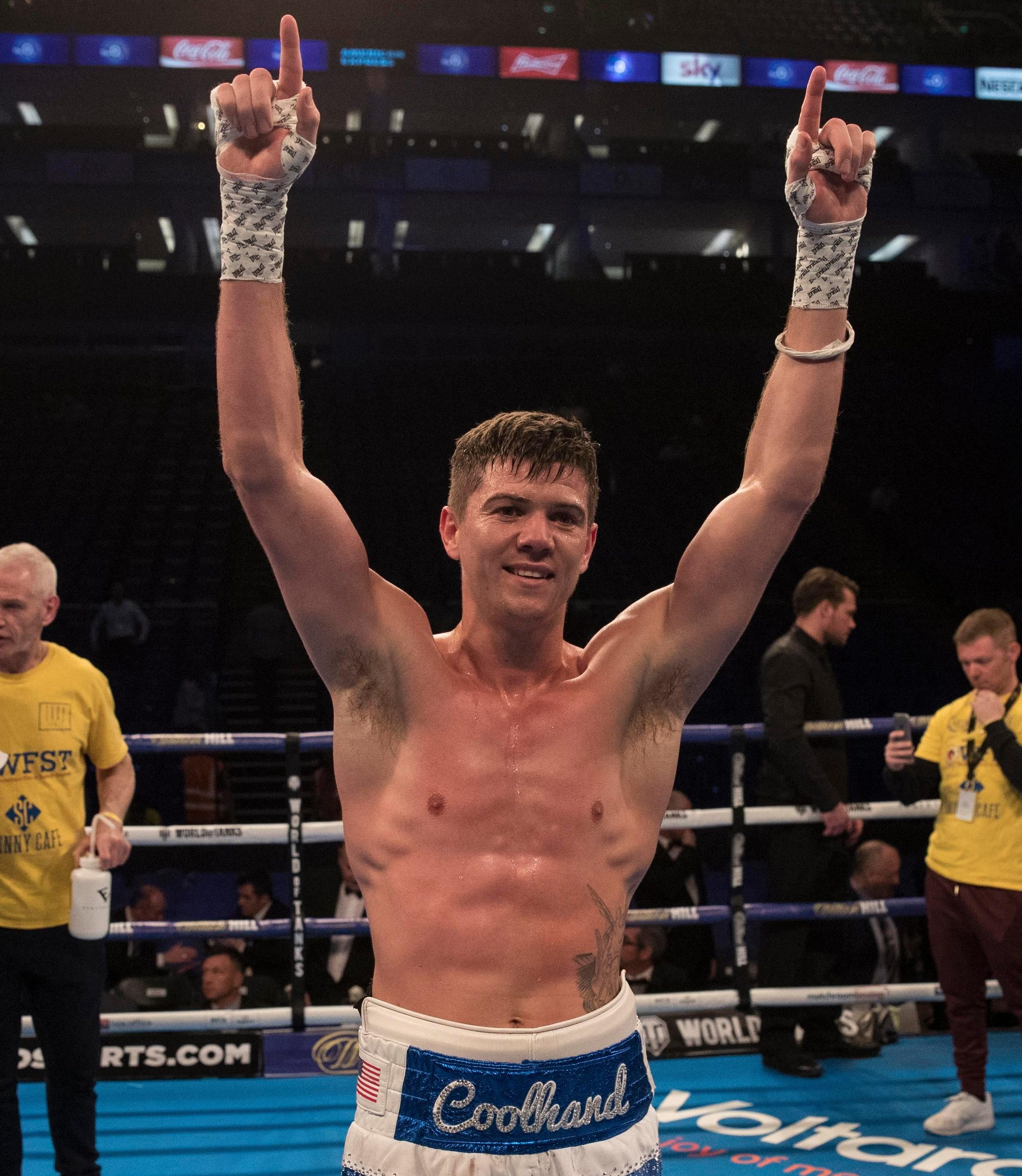 Luke Campbell has made an important move for his career