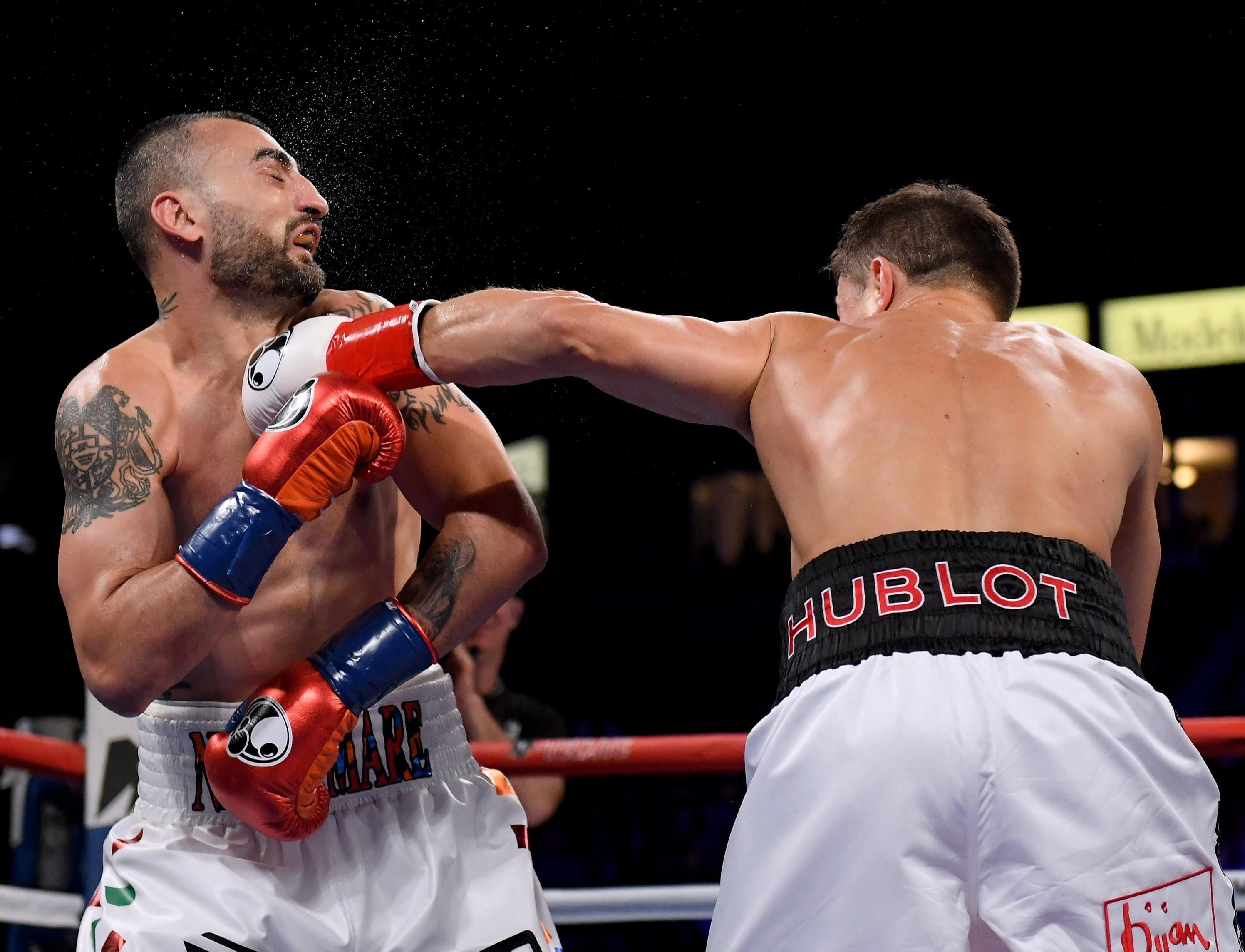 Gennady Golovkin destroyed Vanes Martirosyan in two rounds after his May fight with Canelo Alvarez was called off