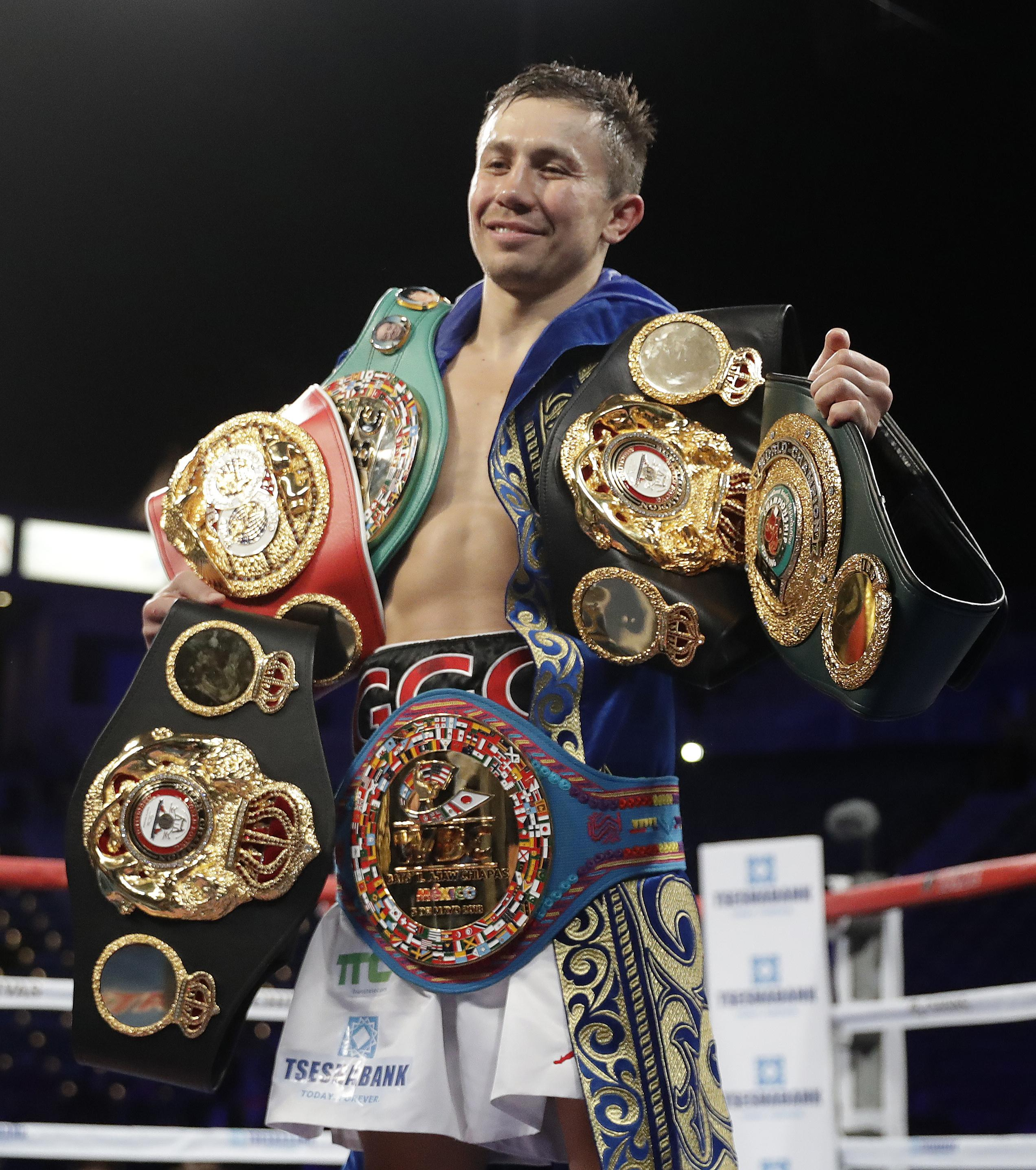 Gennady Golovkin is out to prove he is the undisputed middleweight king next month