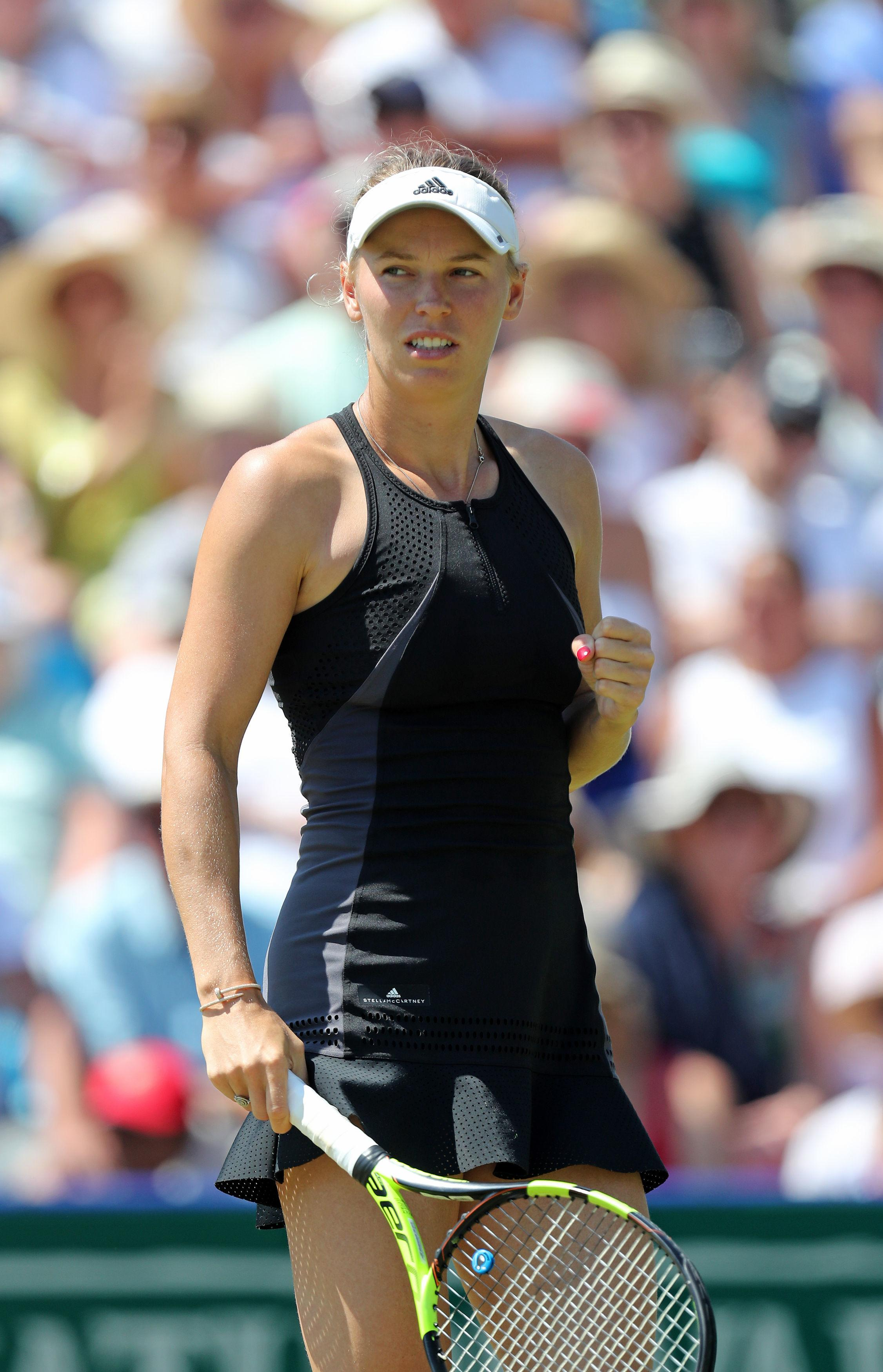 The Danish player begins her US Open campaign today