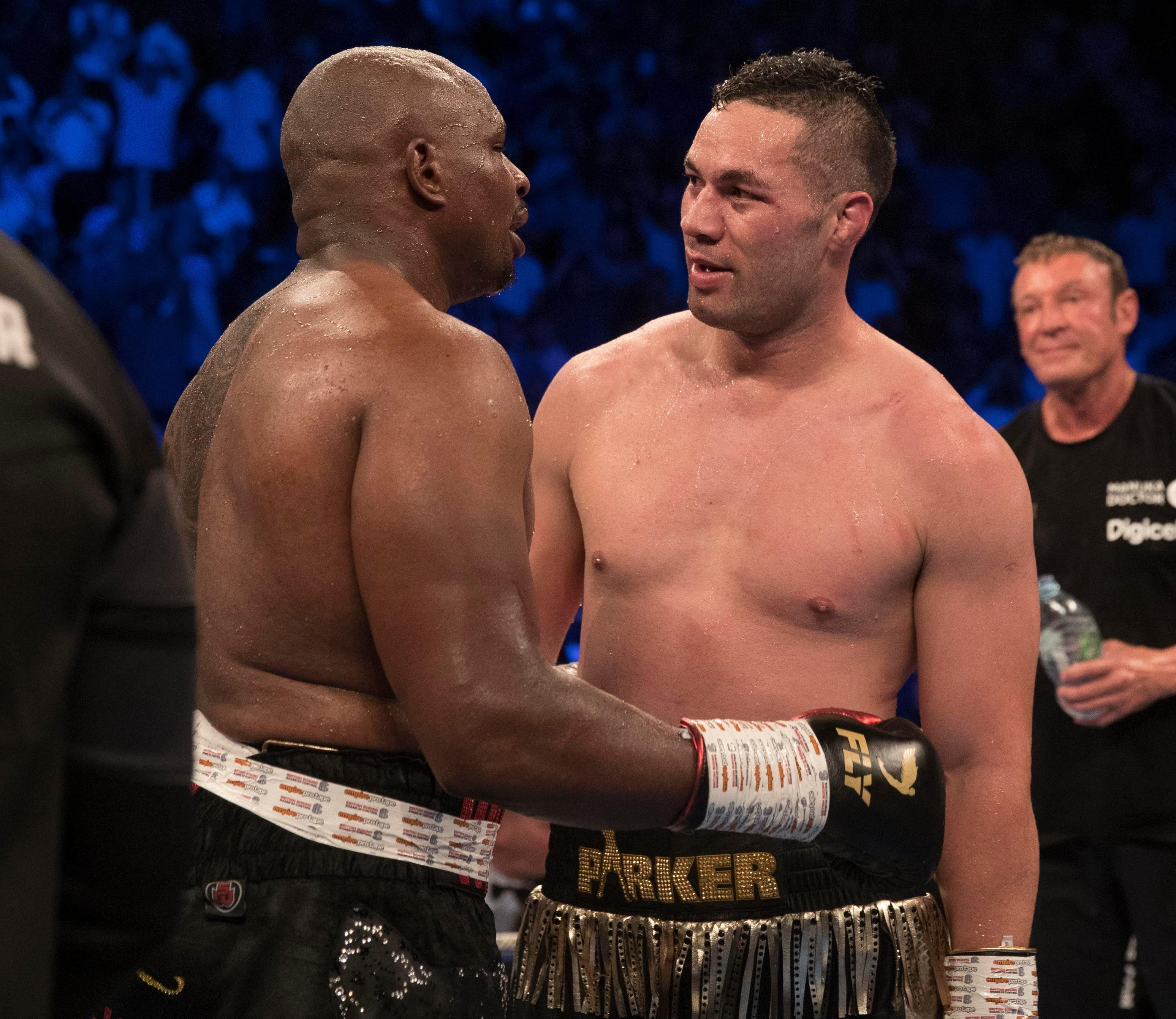 Joseph Parker is set to appeal his points loss to Dillian Whyte