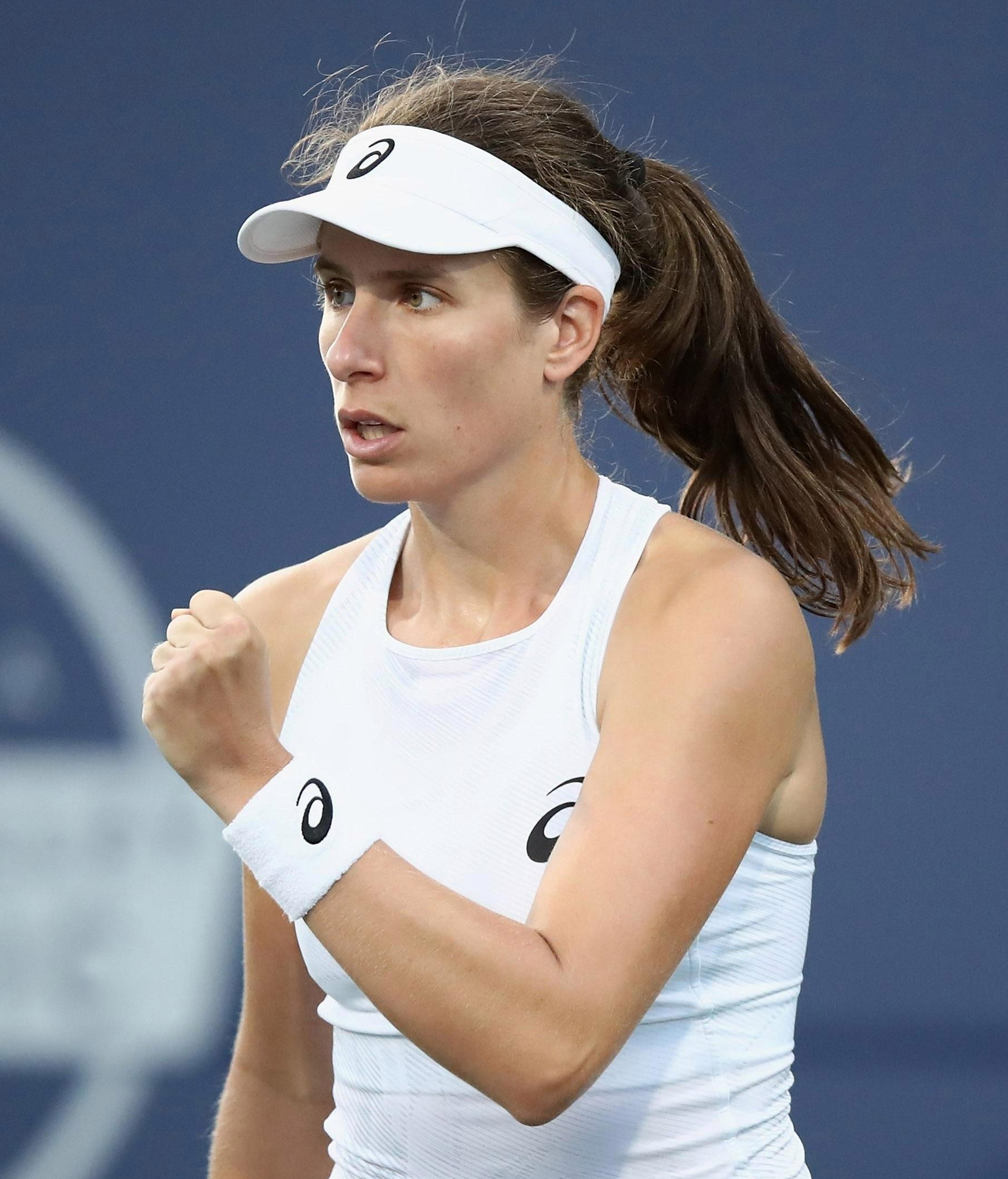 British number one Konta got the job done in 53 minutes