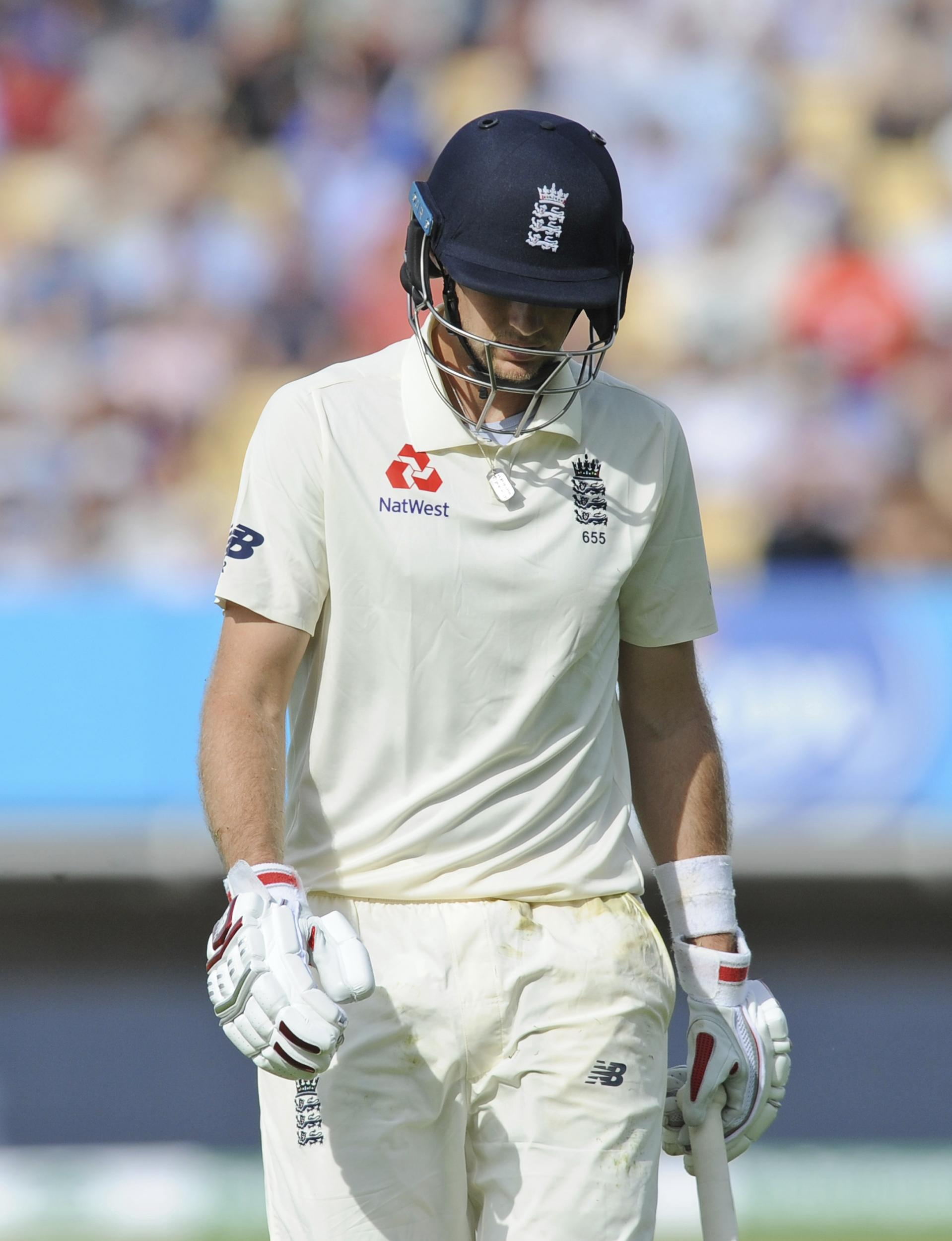 Joe Root came up short again in his pursuit of a Test ton - and then watched his England side collapse