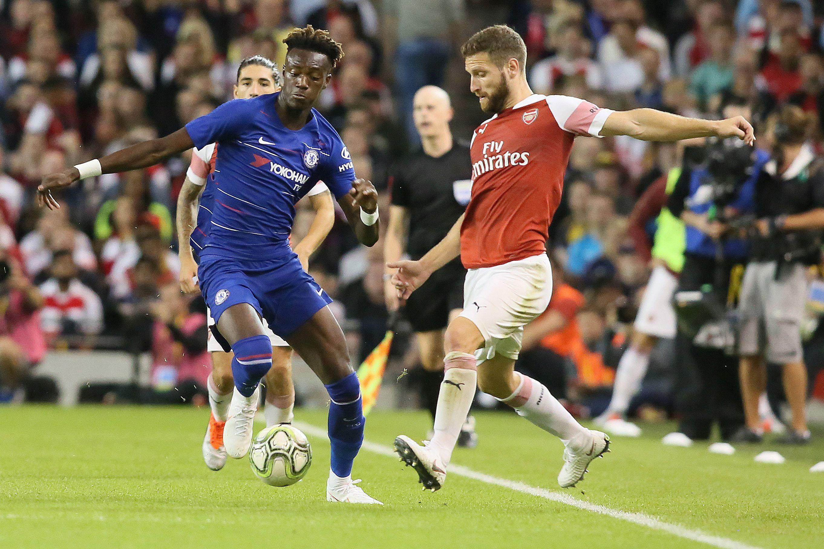 Hudson-Odoi caught the eye for many onlooking Chelsea fans against their London rivals