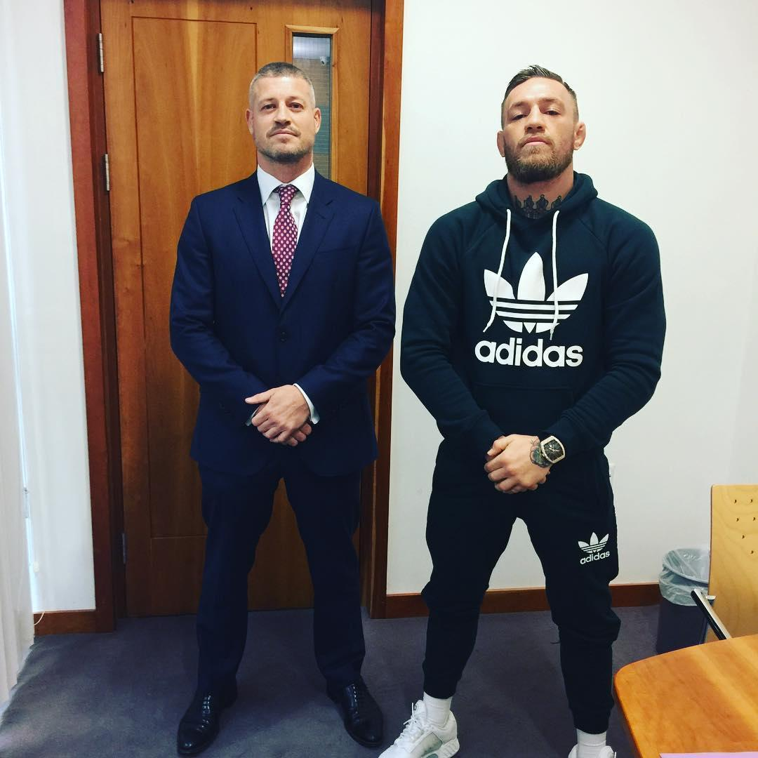 Graham Kelly is an Irish solicitor close to Conor McGregor