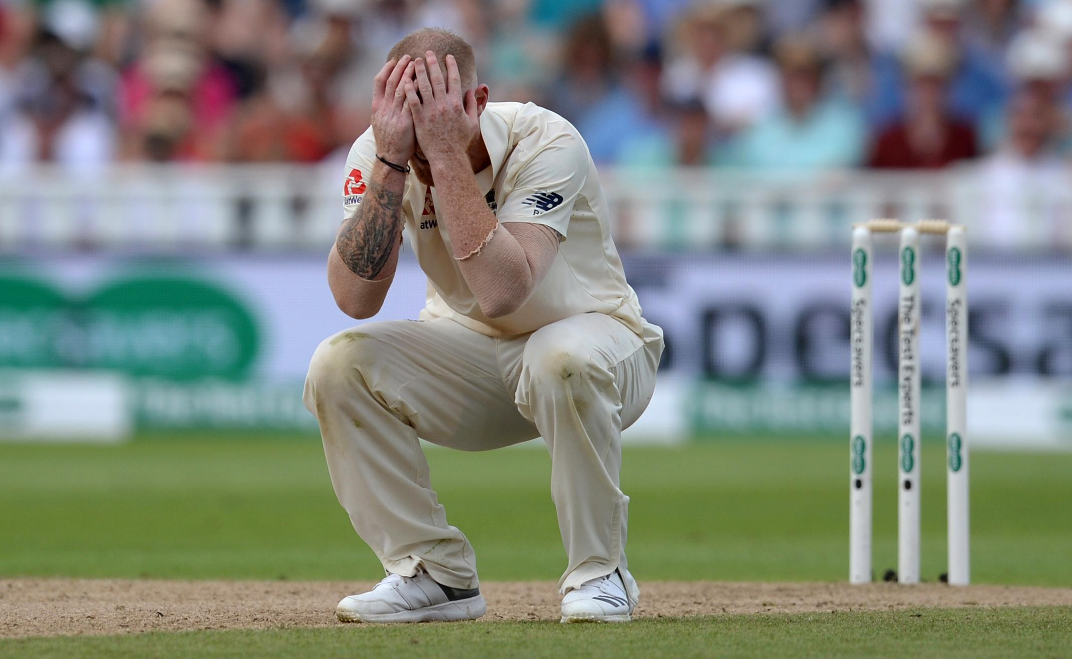 Ben Stokes cannot believe another chance has gone begging on a thrilling day of Test cricket