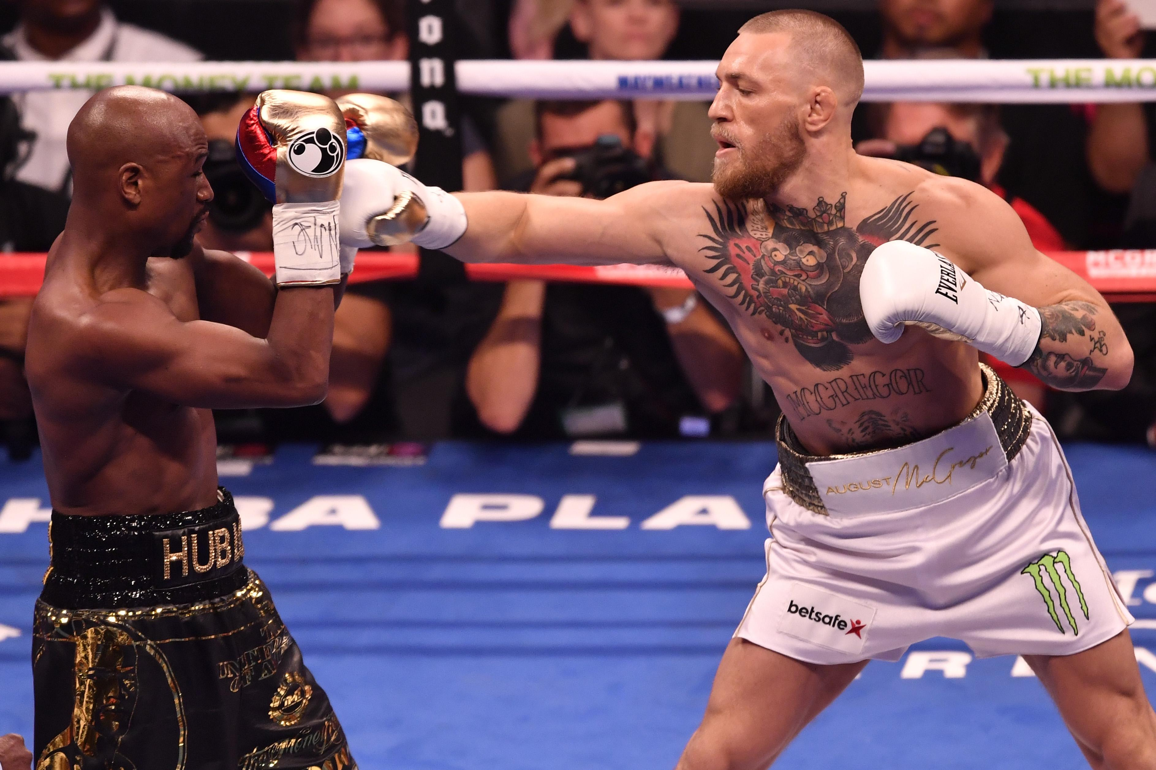 Conor McGregor fought Floyd Mayweather on August 21, 2016