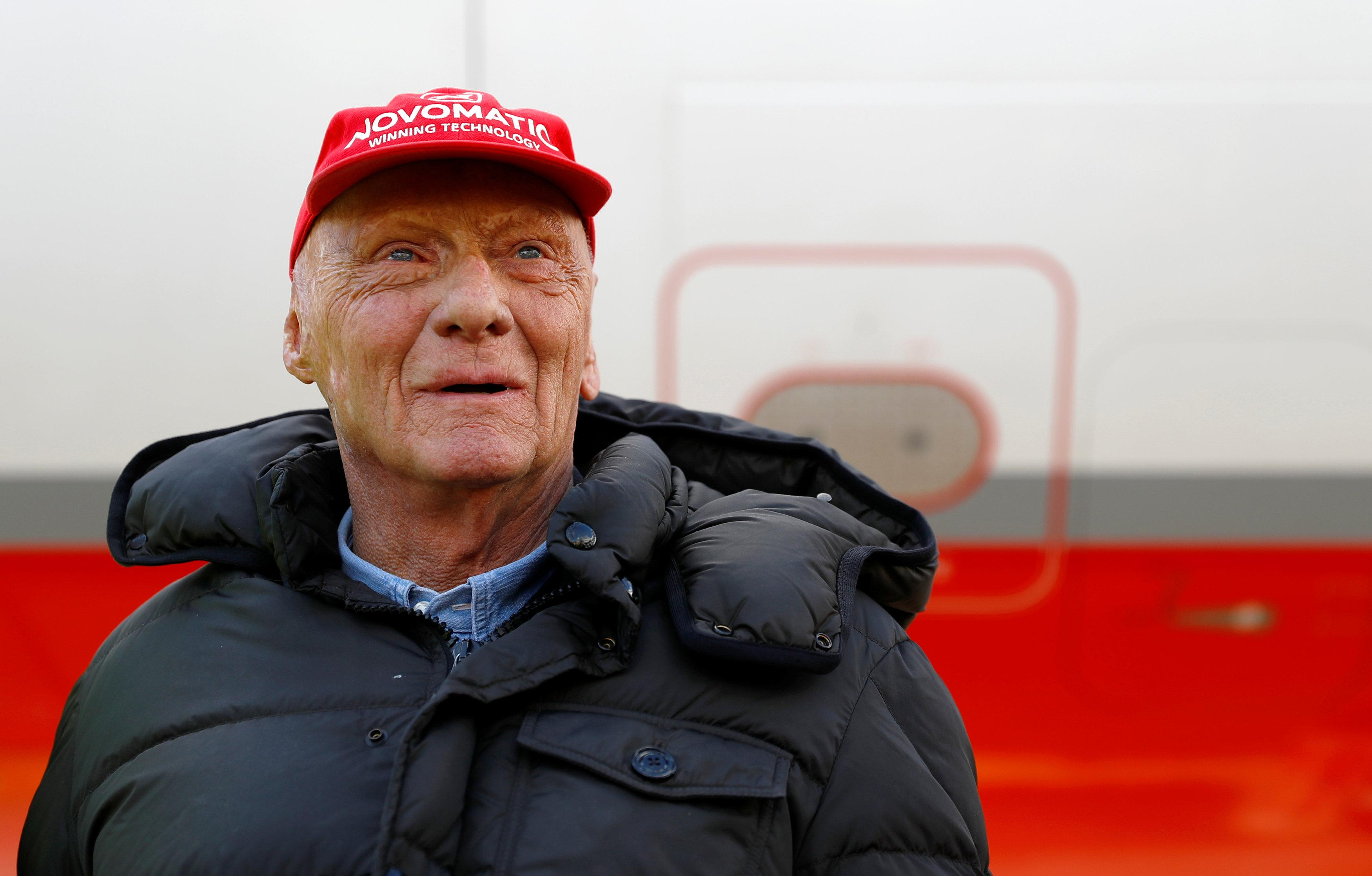 Niki Lauda is recovering following a lung transplant on Thursday