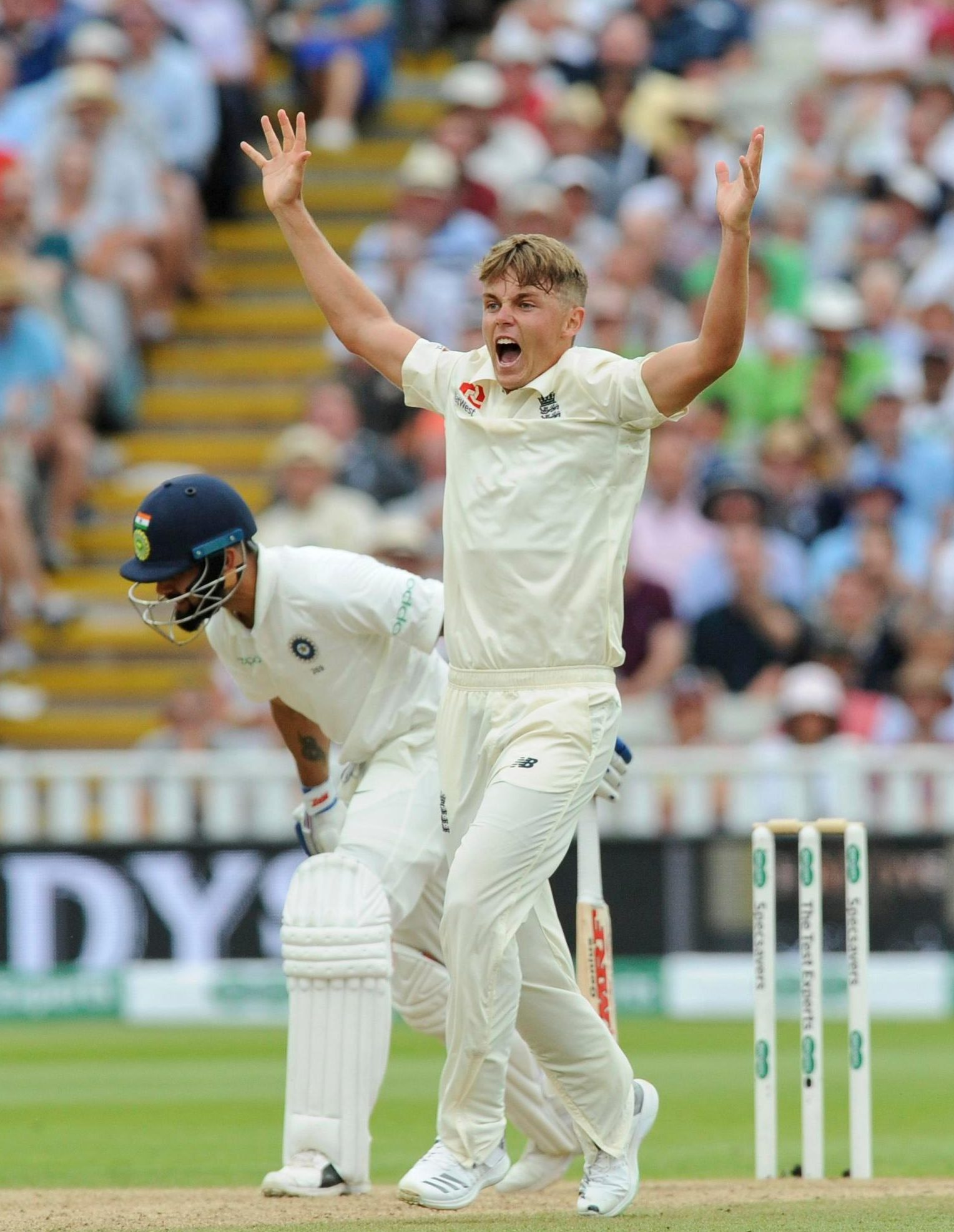 Sam Curran shone with bat and ball in the First Test for England