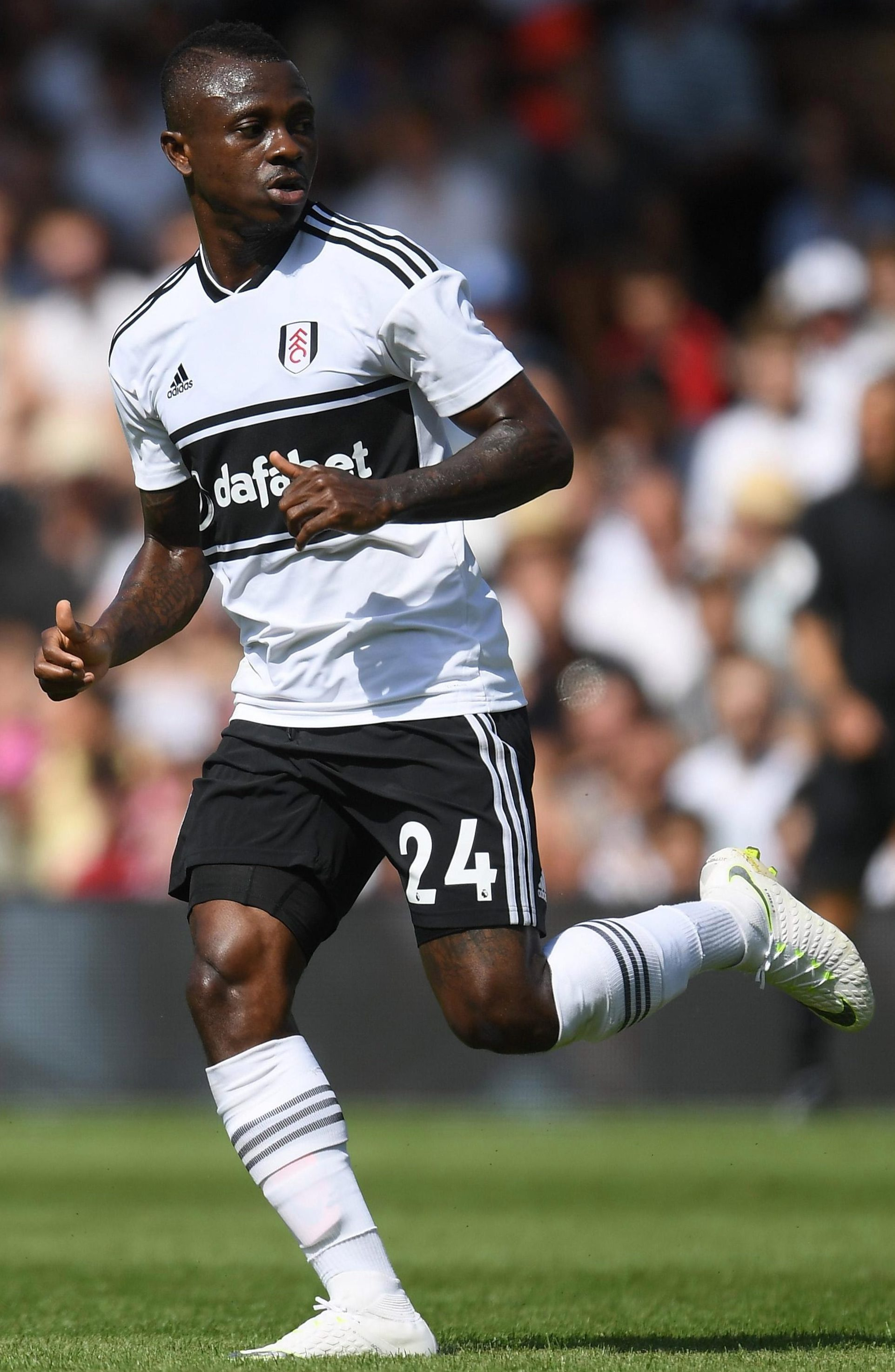 Jean Michael Seri starred for Fulham in the 2-0 loss to Palace