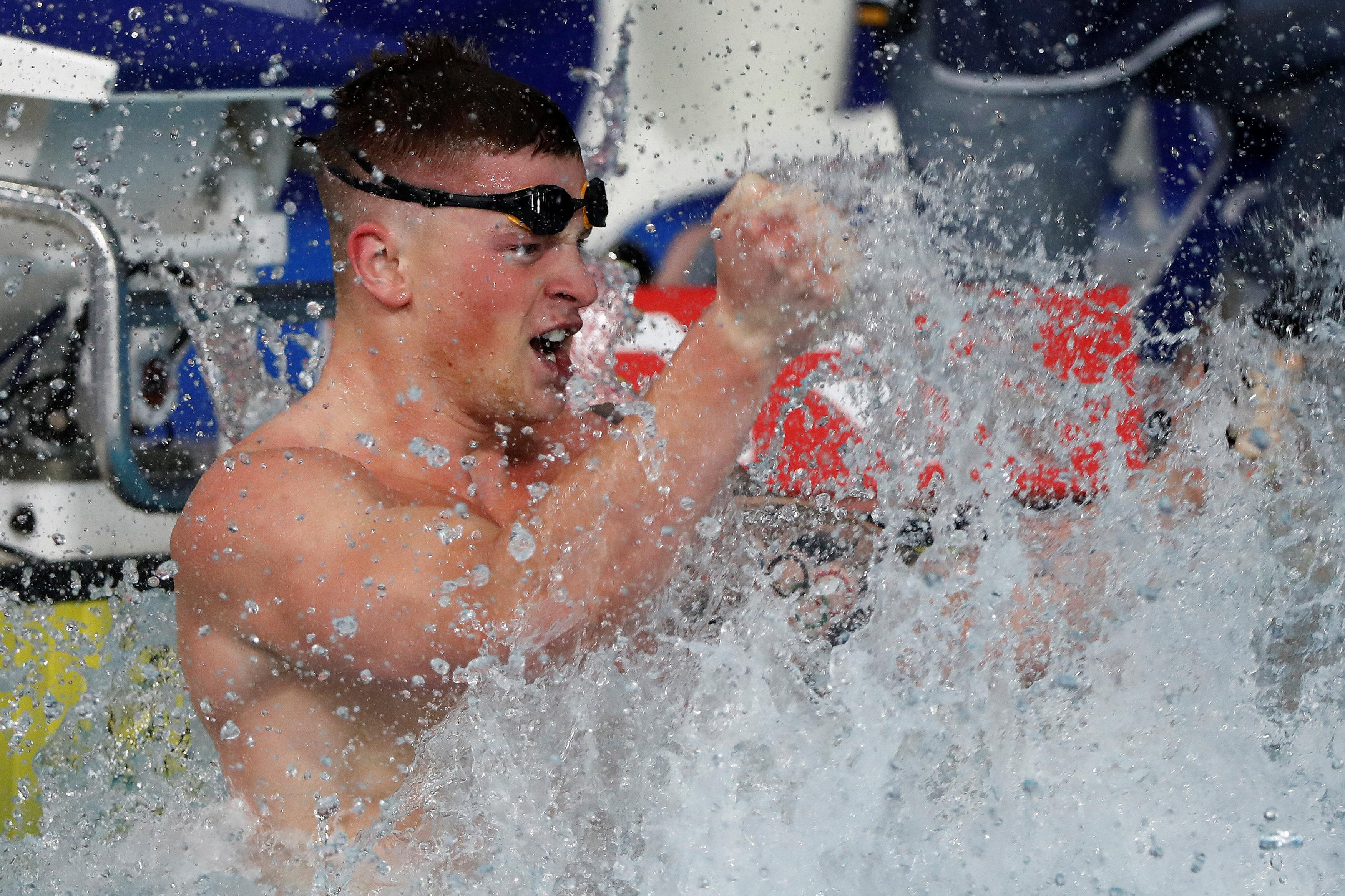 Peaty will be hoping for another win in the 50m breaststroke