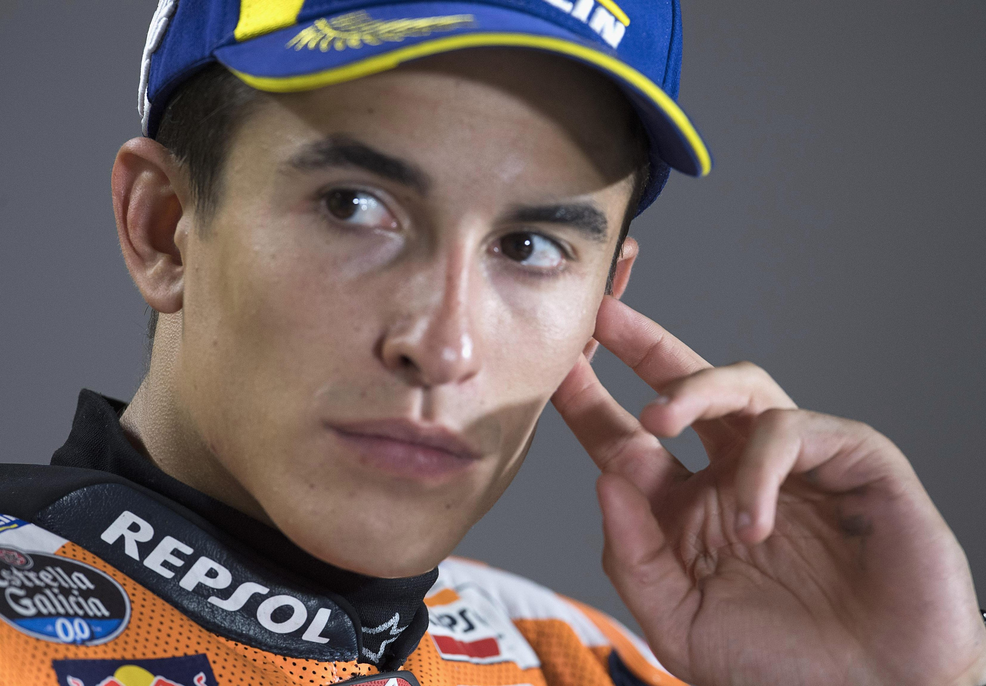 Marc Marquez holds a healthy 49-point lead at the top of the drivers' championship
