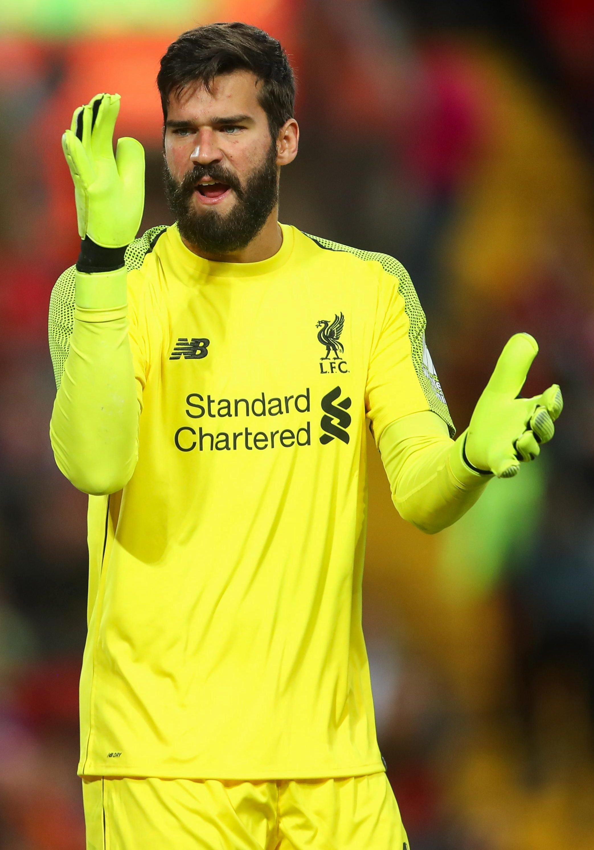 Liverpool fans got to see Brazil regular Alisson, the world's second-most expensive keeper at £67million, in the friendly against Torino