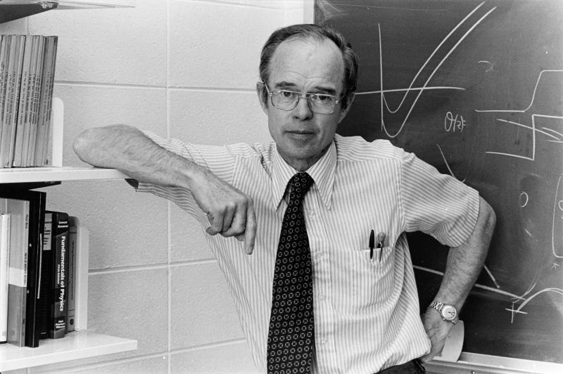 The probe was named after Eugene Parker, who was there to see the launch