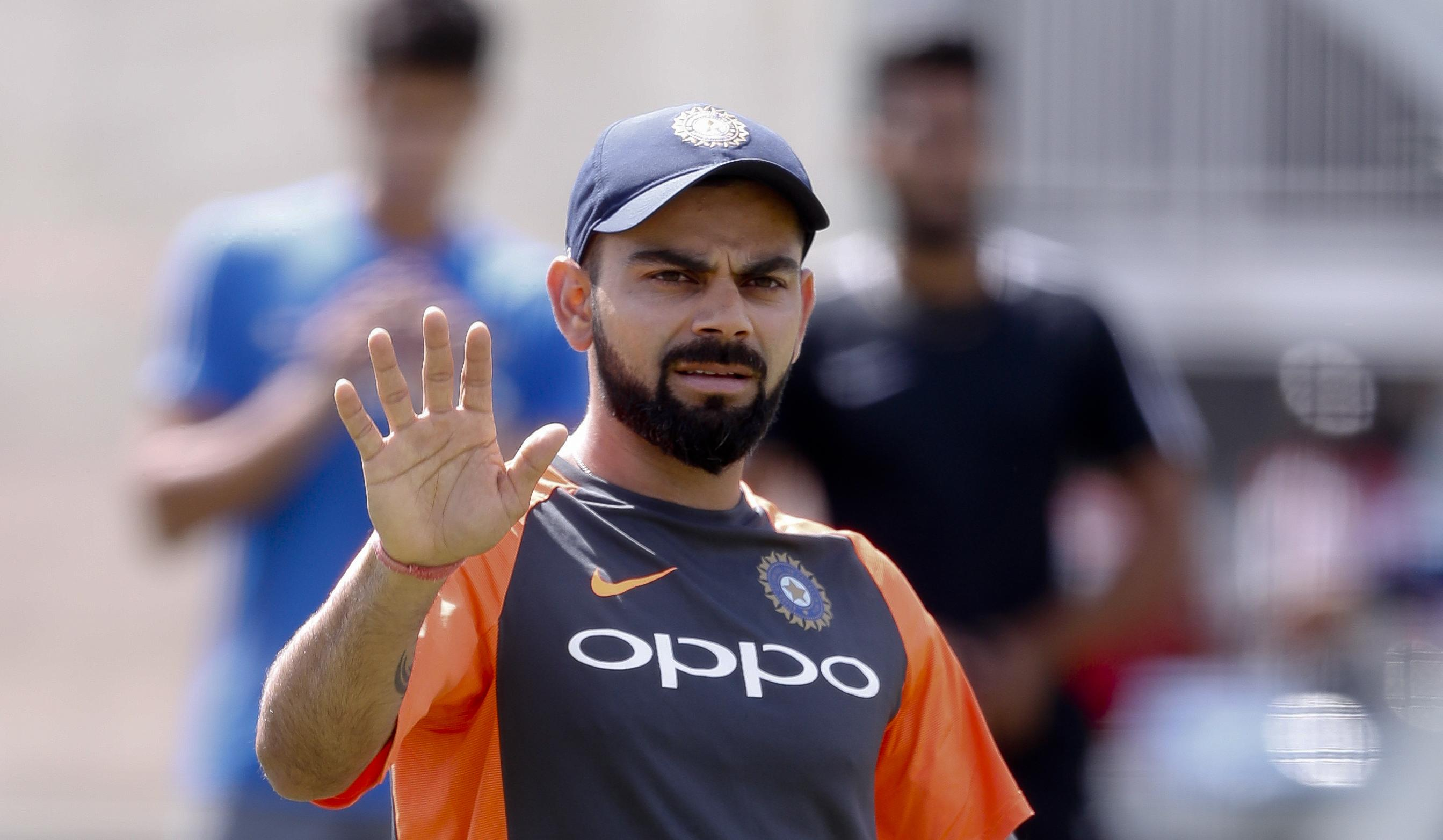 Indian captain Virat Kohli has issued a warning to Pope