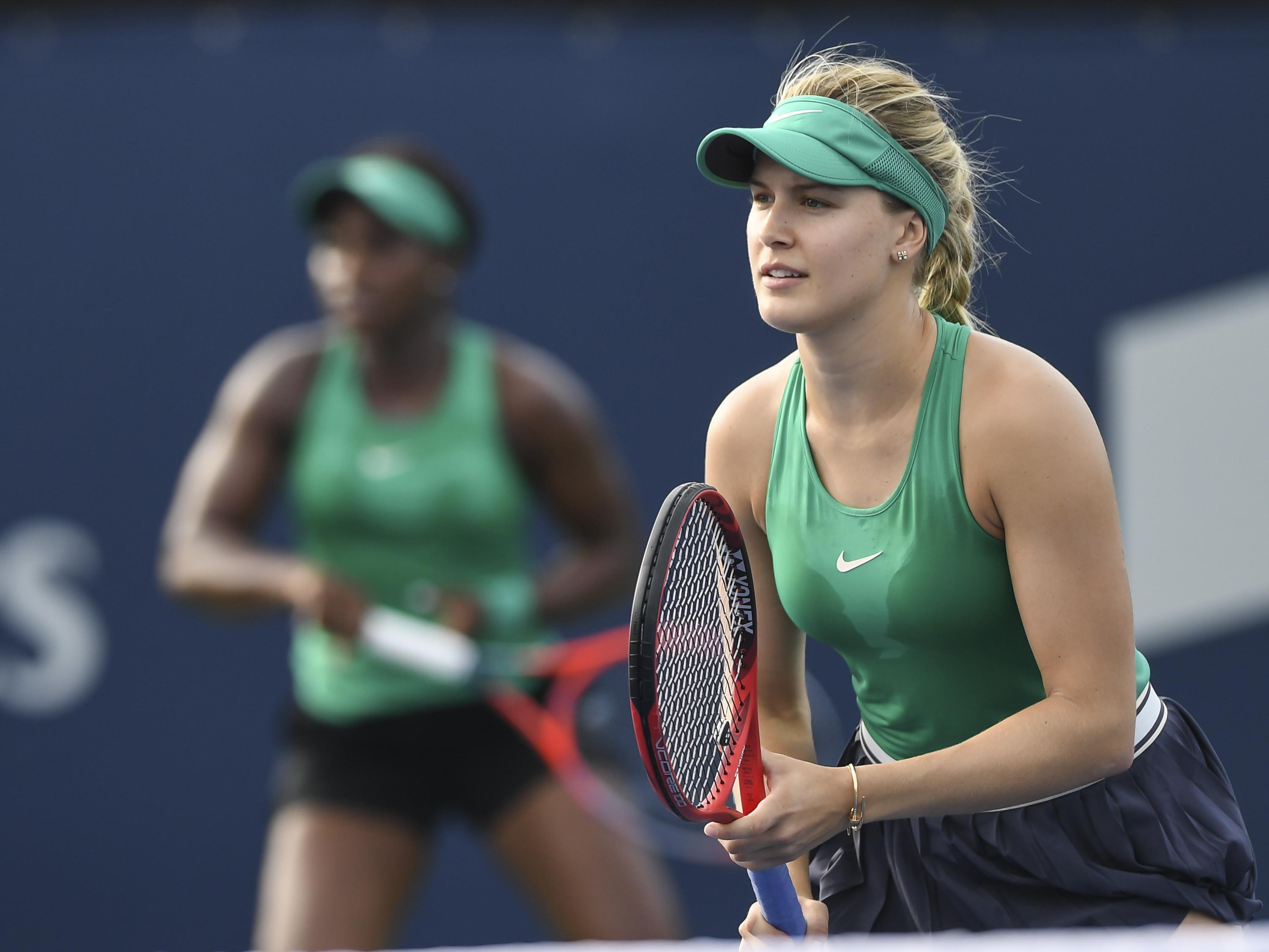Eugenie Bouchard is now into the quarter-finals of the Vancouver Open