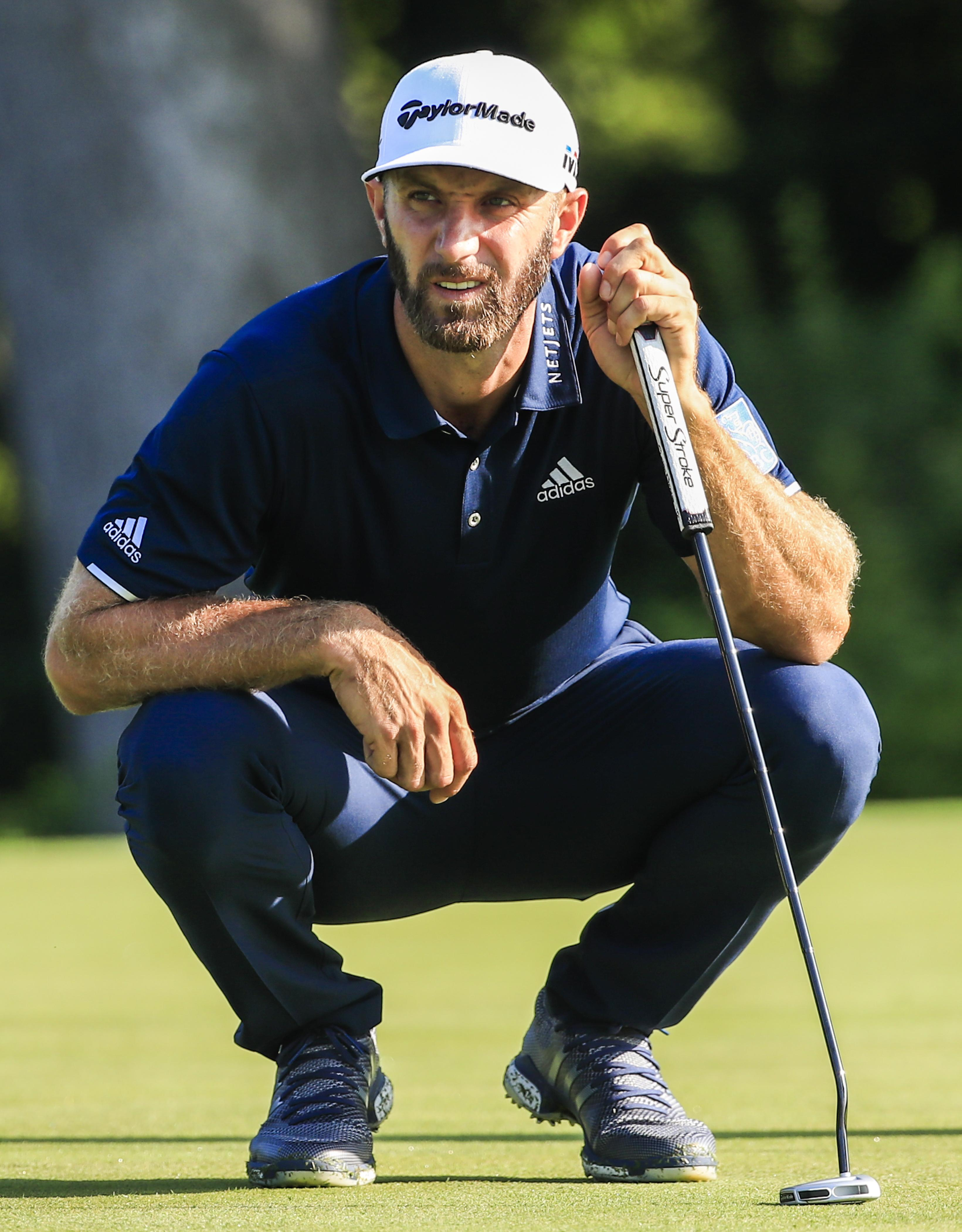 Dustin Johnson is staking a strong claim for his second Major