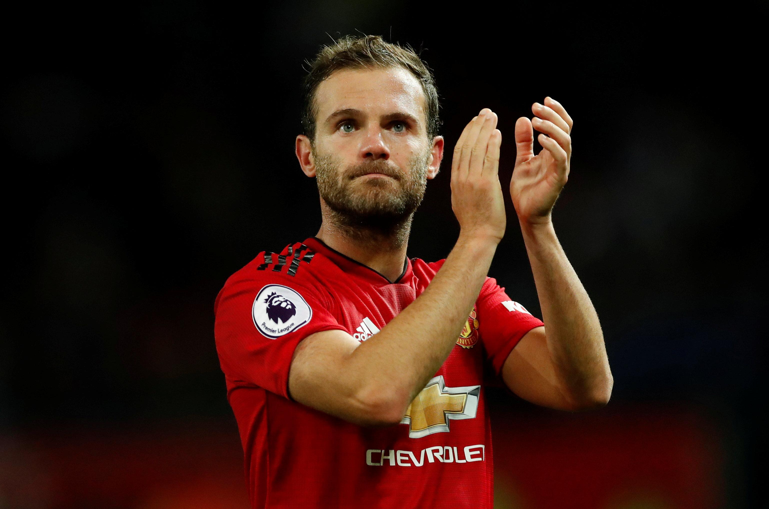 Juan Mata is wanted by his old club Valencia and could leave Man United on a free next summer