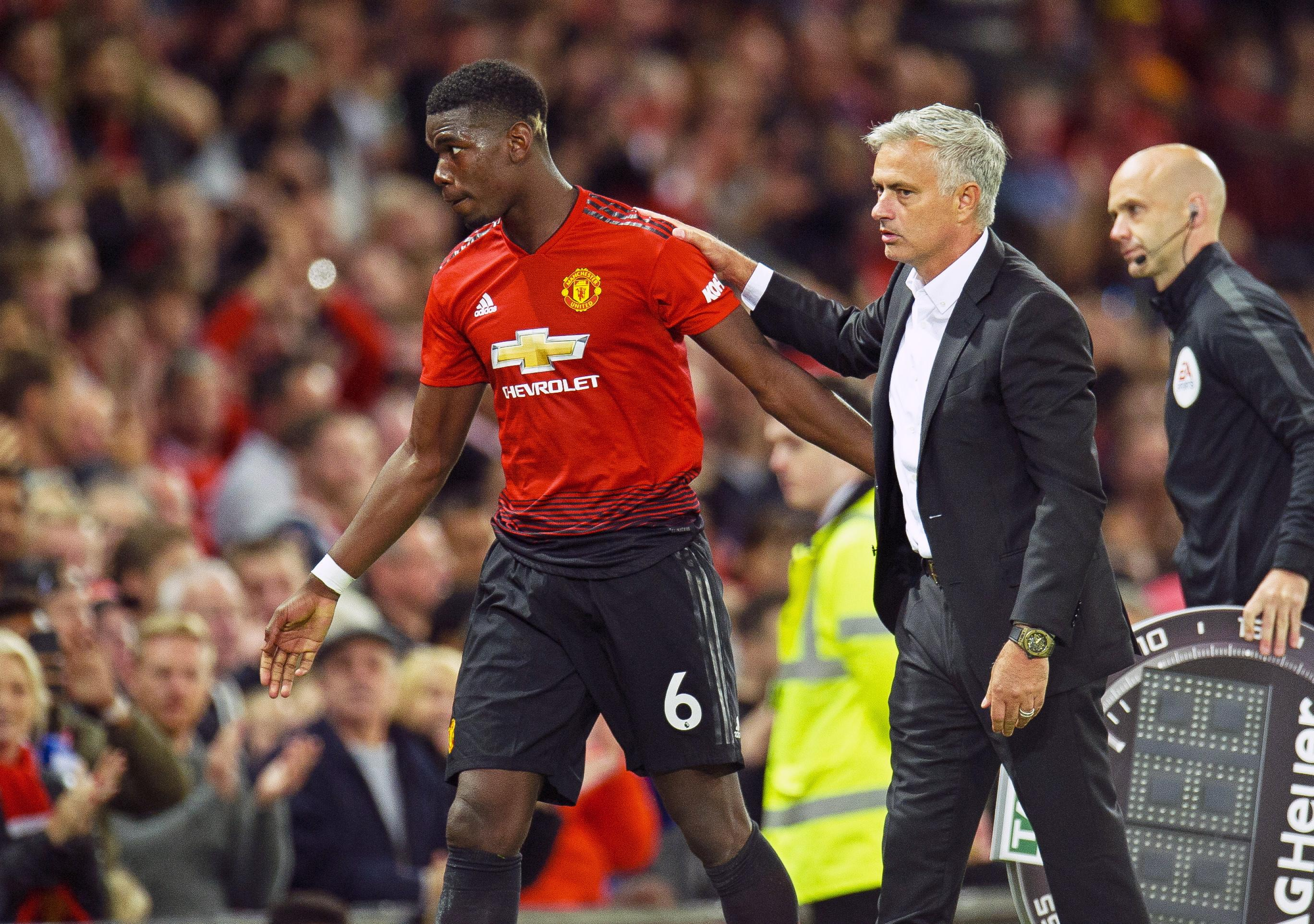Jose Mourinho told reporters to quiz Paul Pogba on his comments about having the wrong attitude