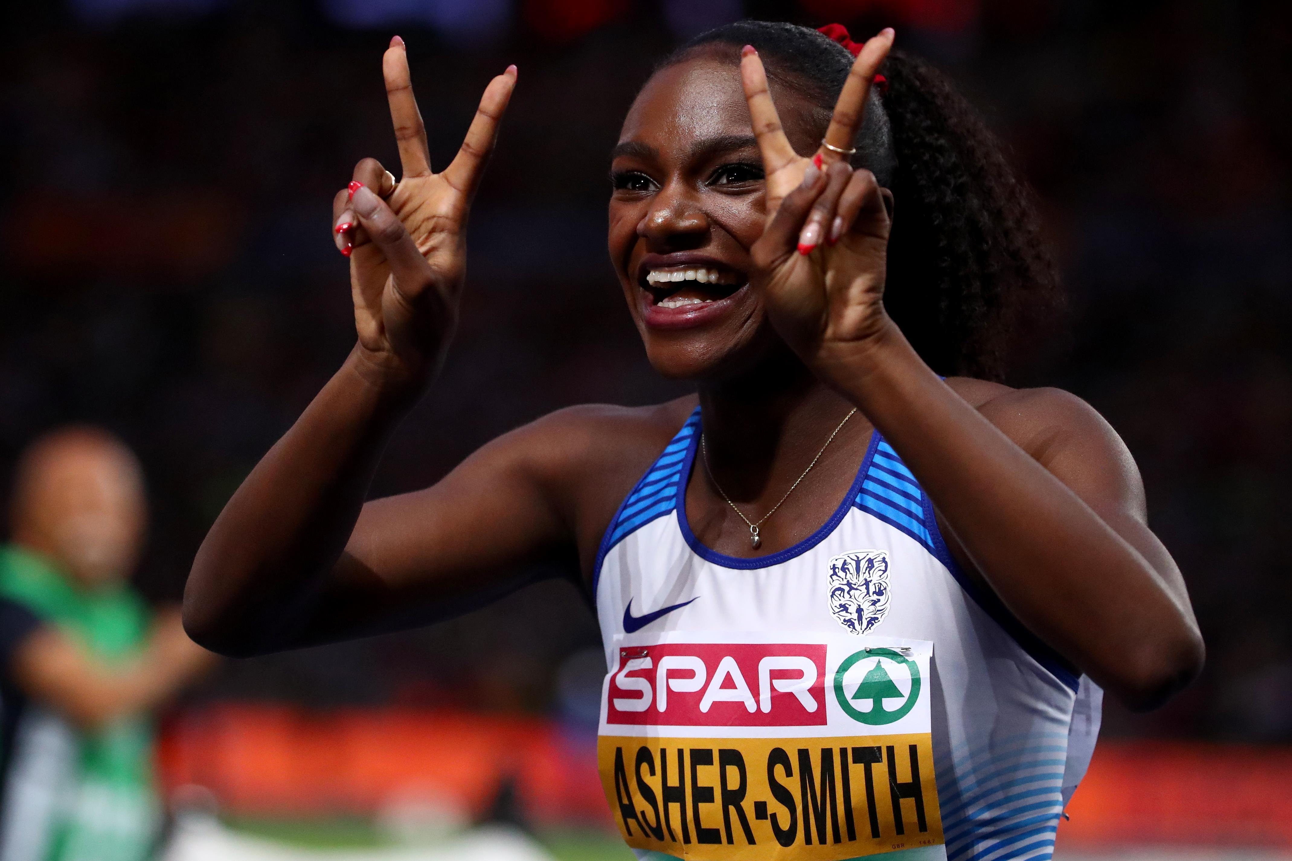 Dina Asher-Smith added 200m gold to her 100m glory from Tuesday