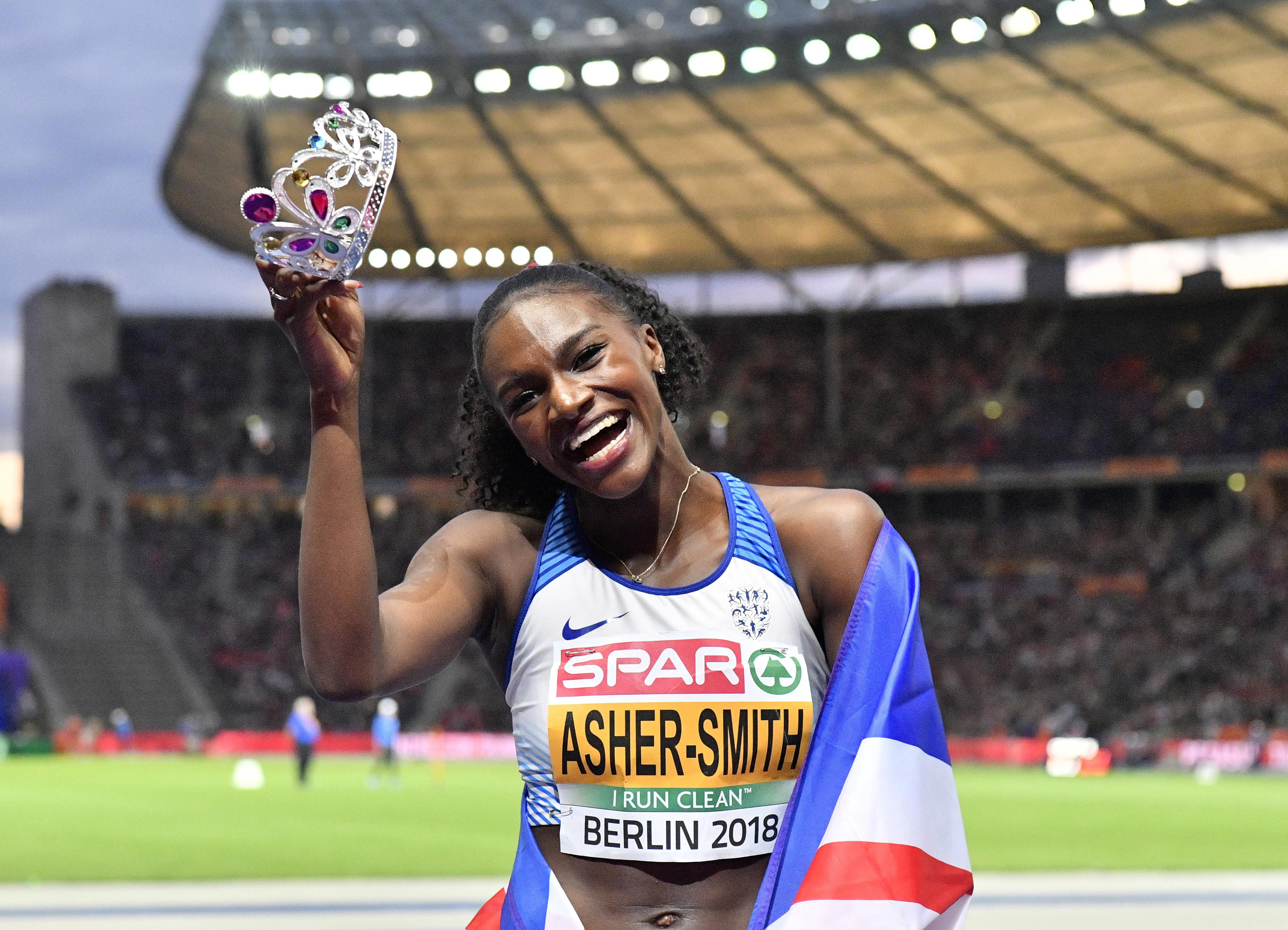 British athletics has a new golden girl: history-making Dina Asher-Smith