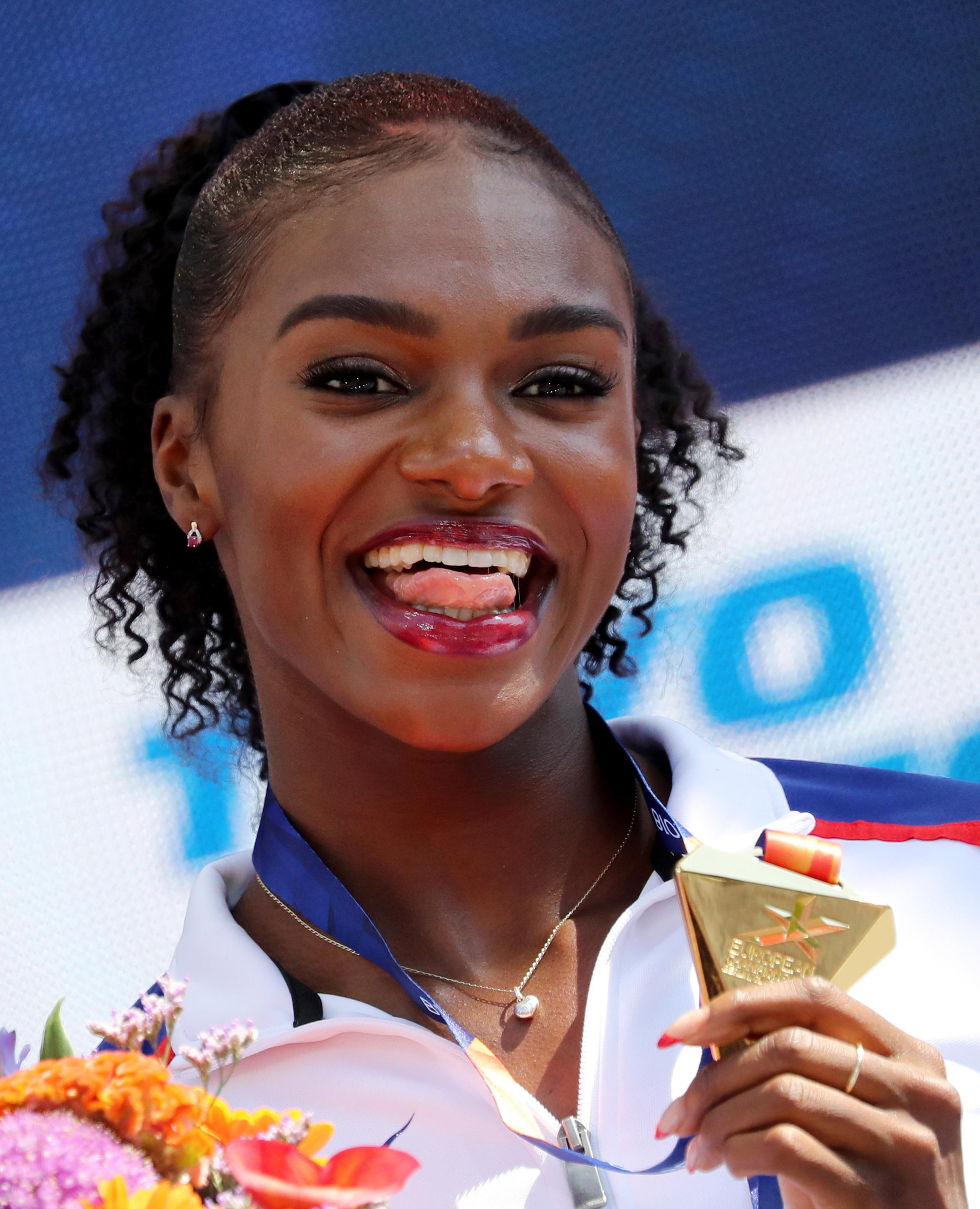Dina Asher-Smith hit her hat-trick on Sunday