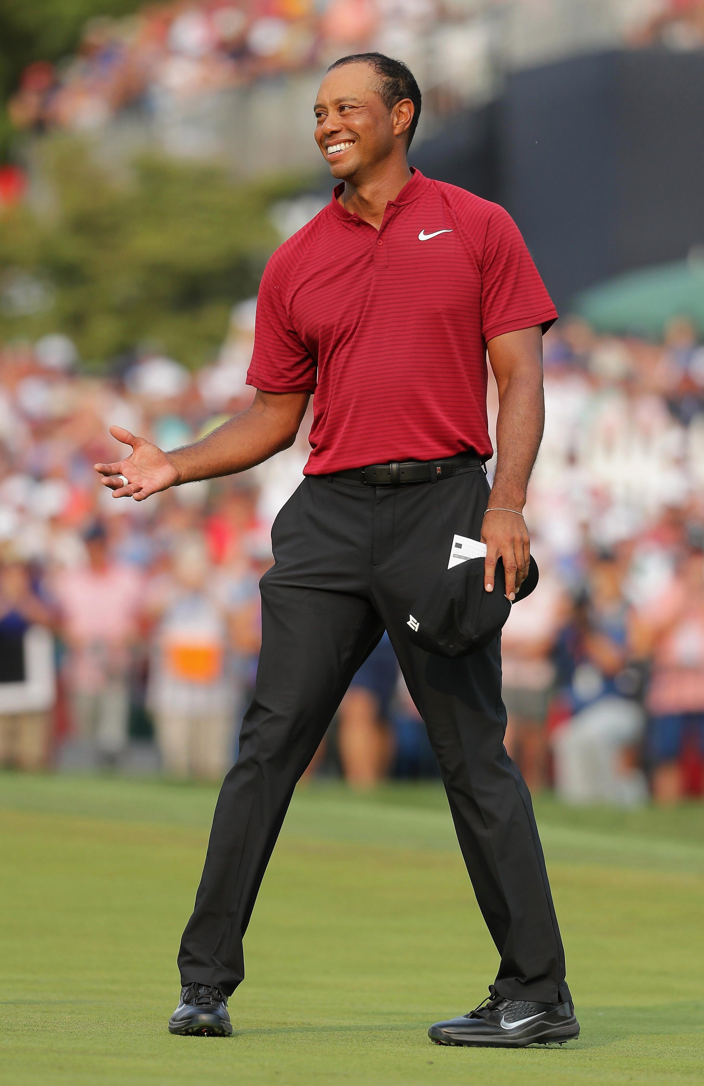 Superstar Tiger Woods has really turned up the gas on his comeback