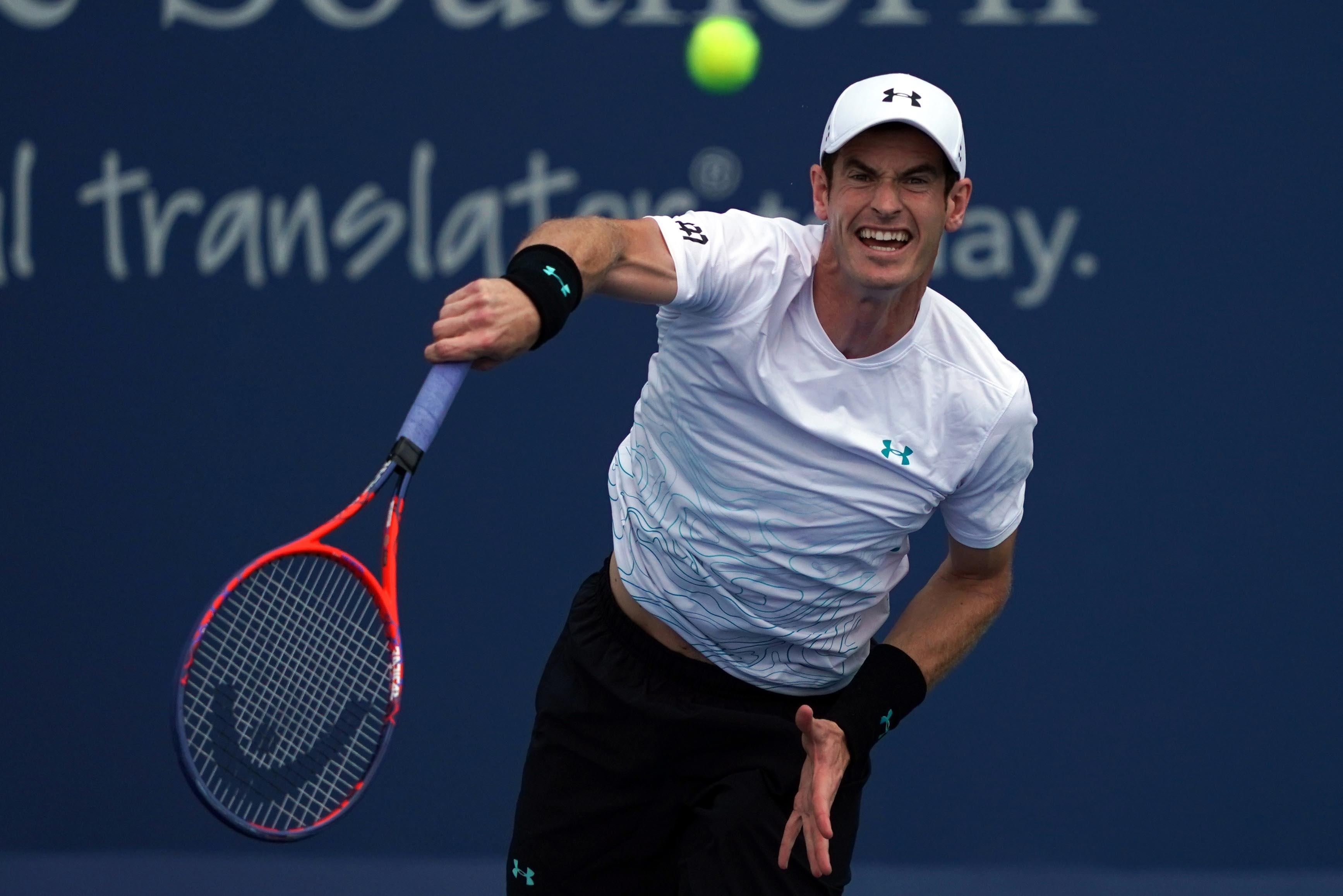 Andy Murray is bracing himself for his first grand slam appearance in 14 months