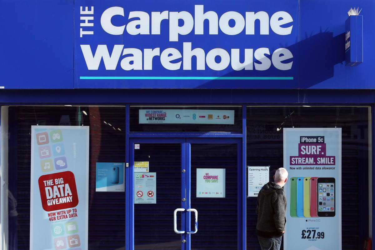 unlock code carphone warehouse