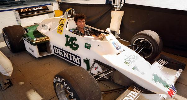 Much like other Guy Martin ventures, the Williams FW08C restoration is the subject of an upcoming documentary