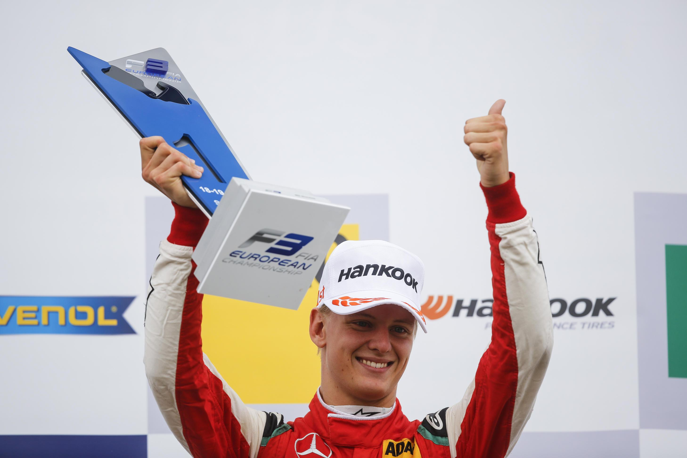Mick Schumacher is aiming to progress to Formula 2, before reaching F1