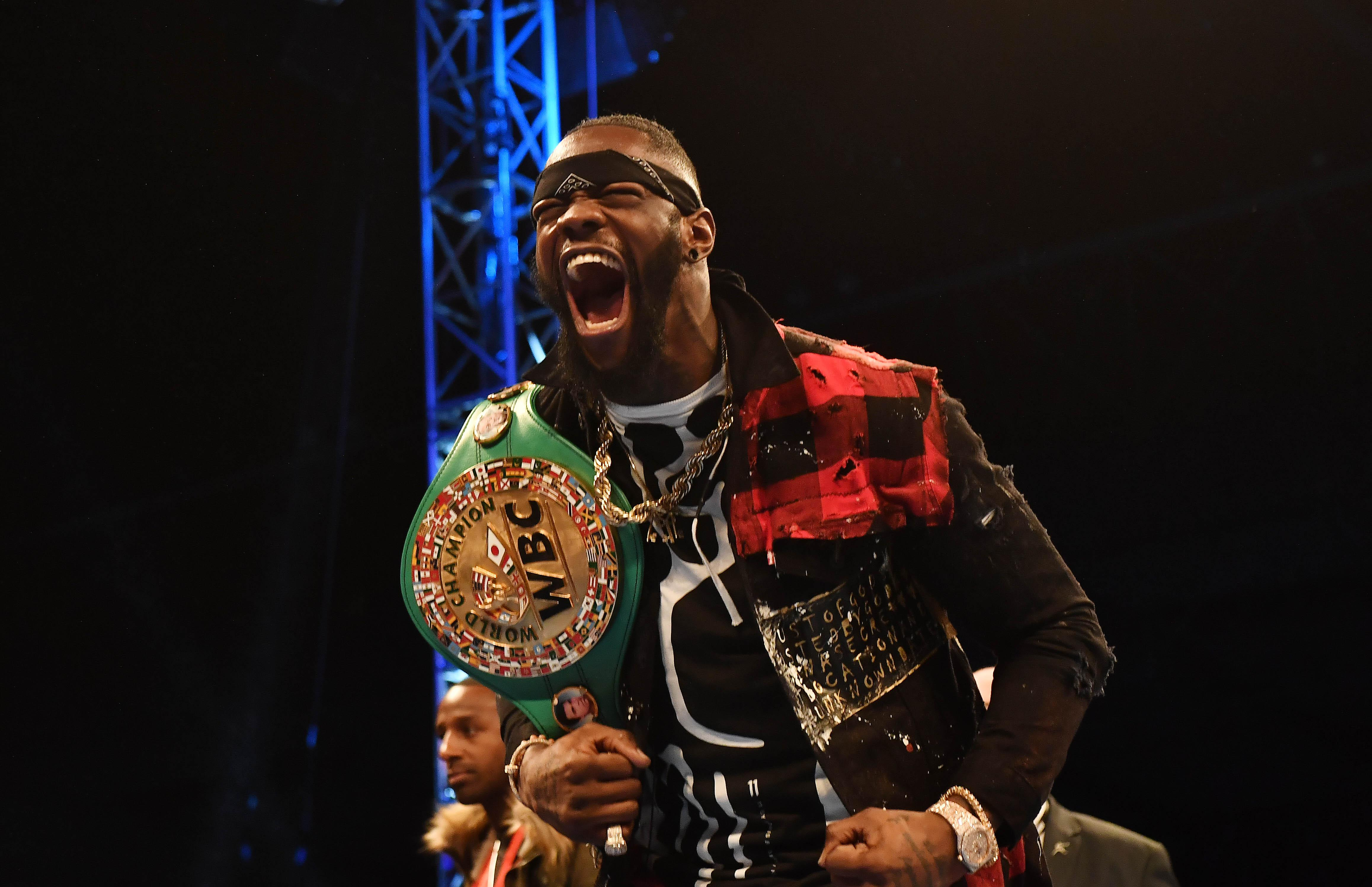 WBC champ Deontay Wilder and Tyson Fury are set to clash in Las Vegas