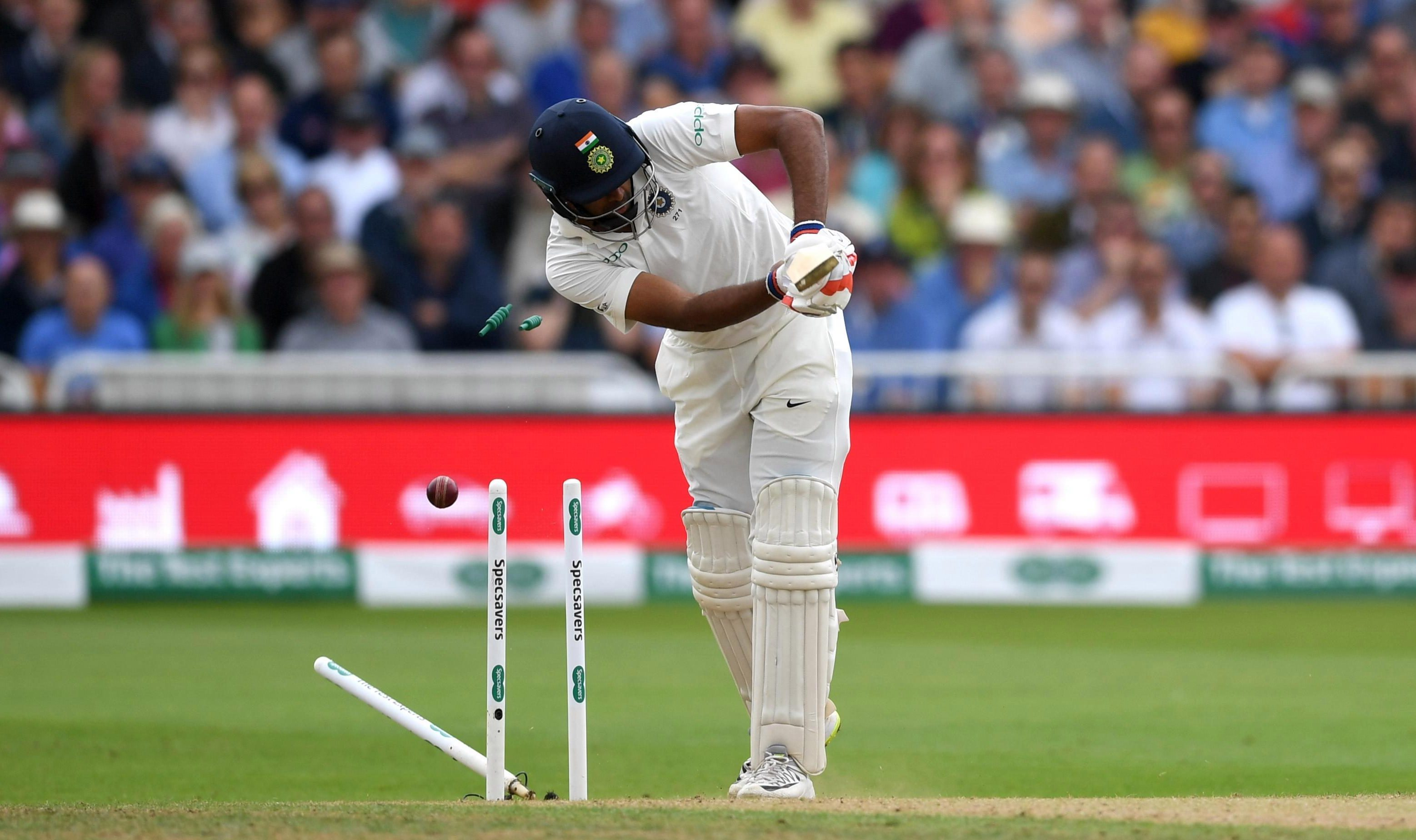 The day had started well as India collapsed from 307-6 overnight to 329 all out