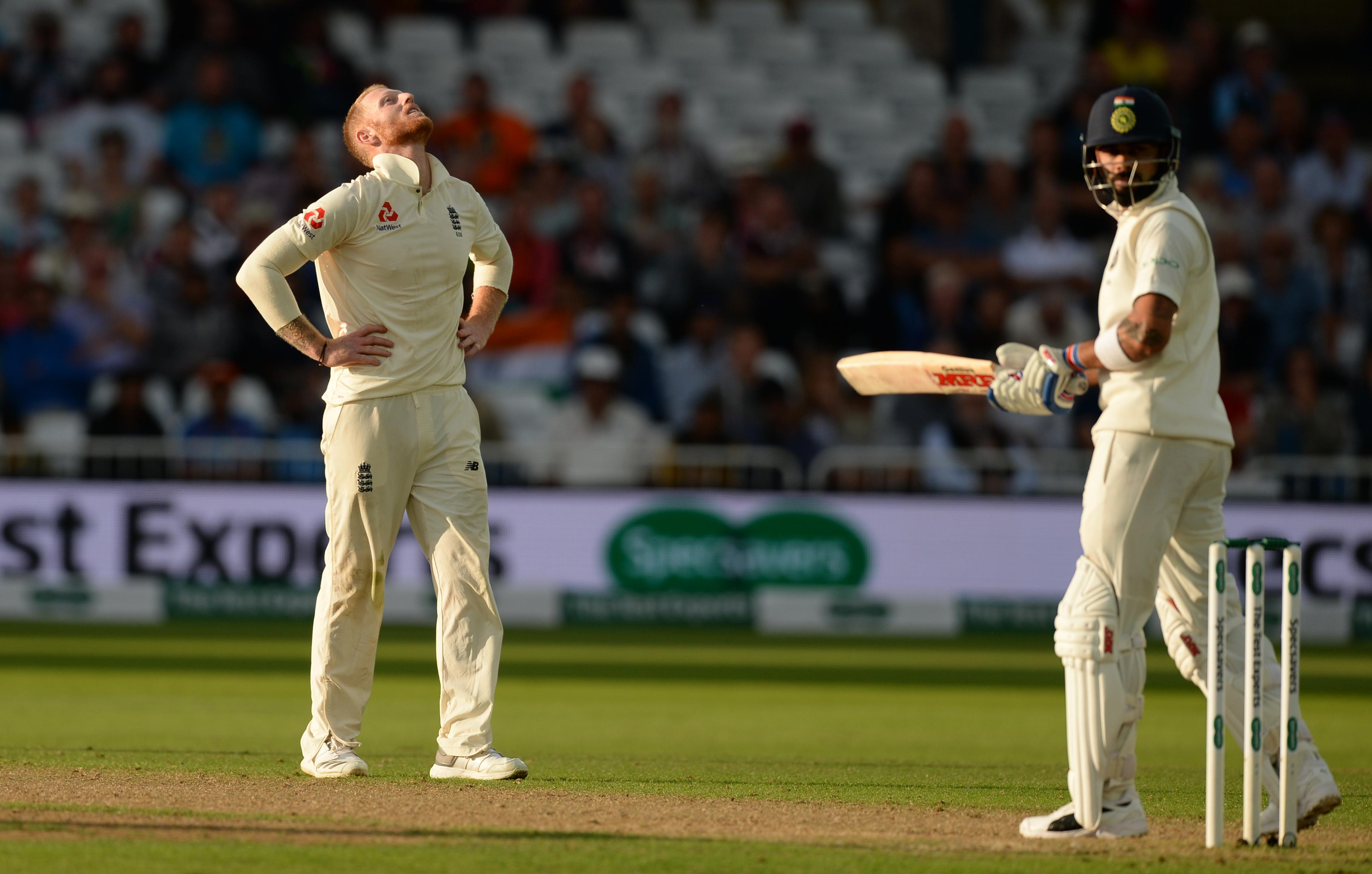 It proved a difficult day with bat and ball for Ben Stokes