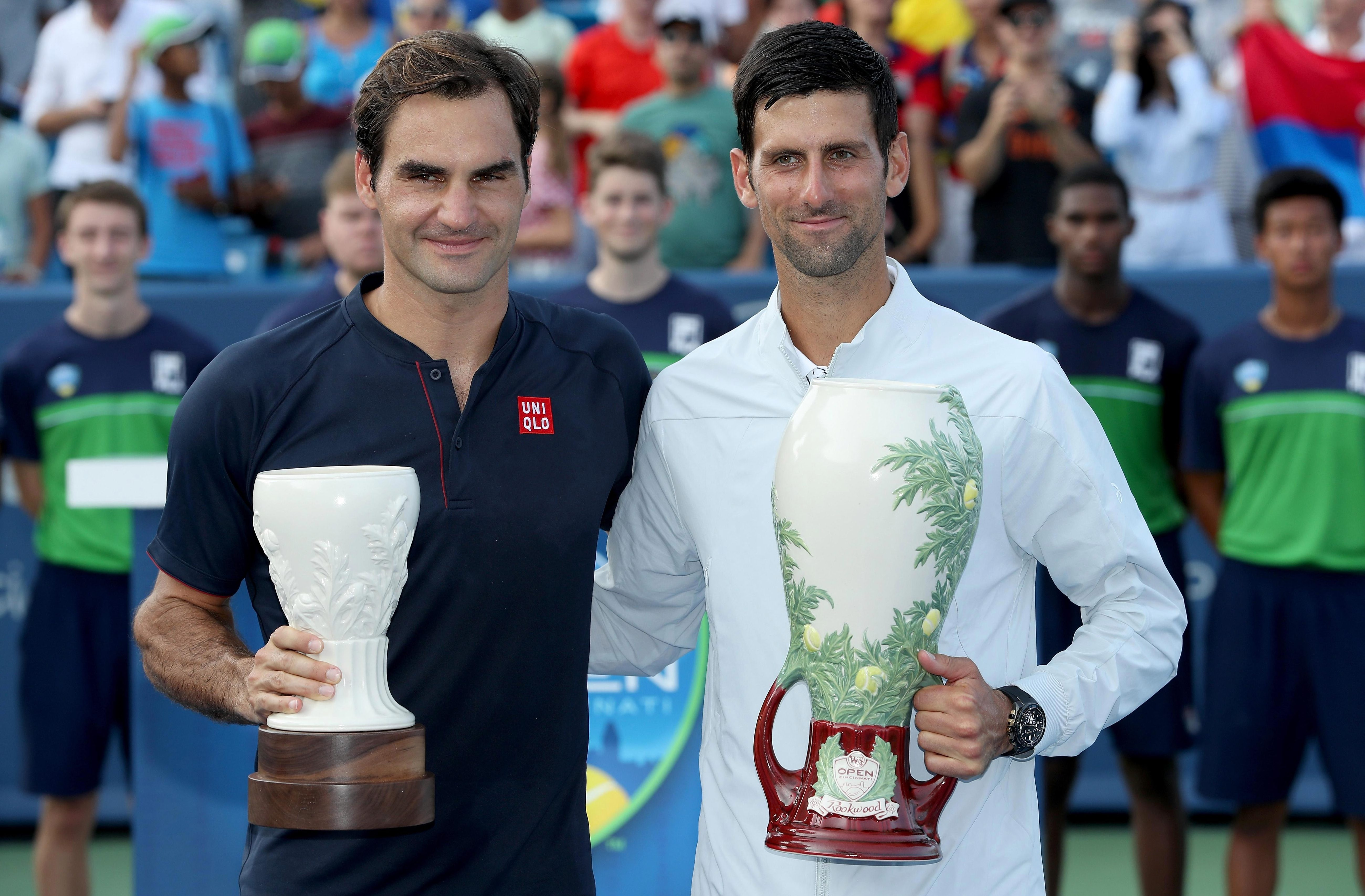 Novak Djokovic leads the way with 31 Masters titles and became the first player to win all nine when he beat Roger Federer in Cincinnati this week