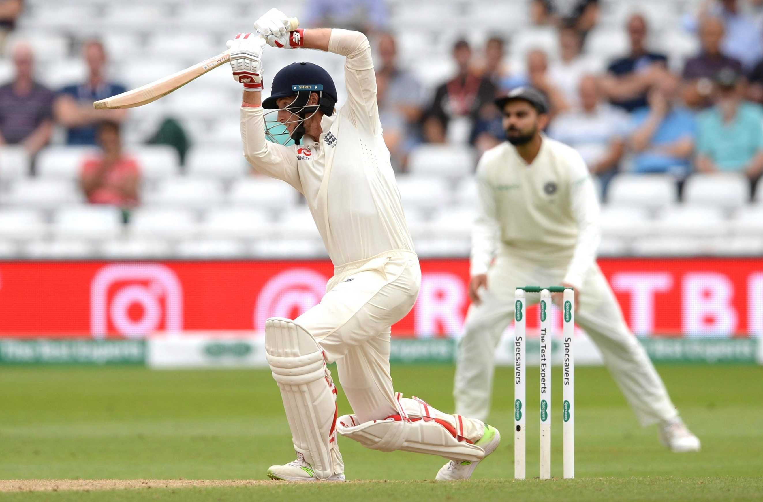 Joe Root bats at No 3 for England, even though No 4 is his best position