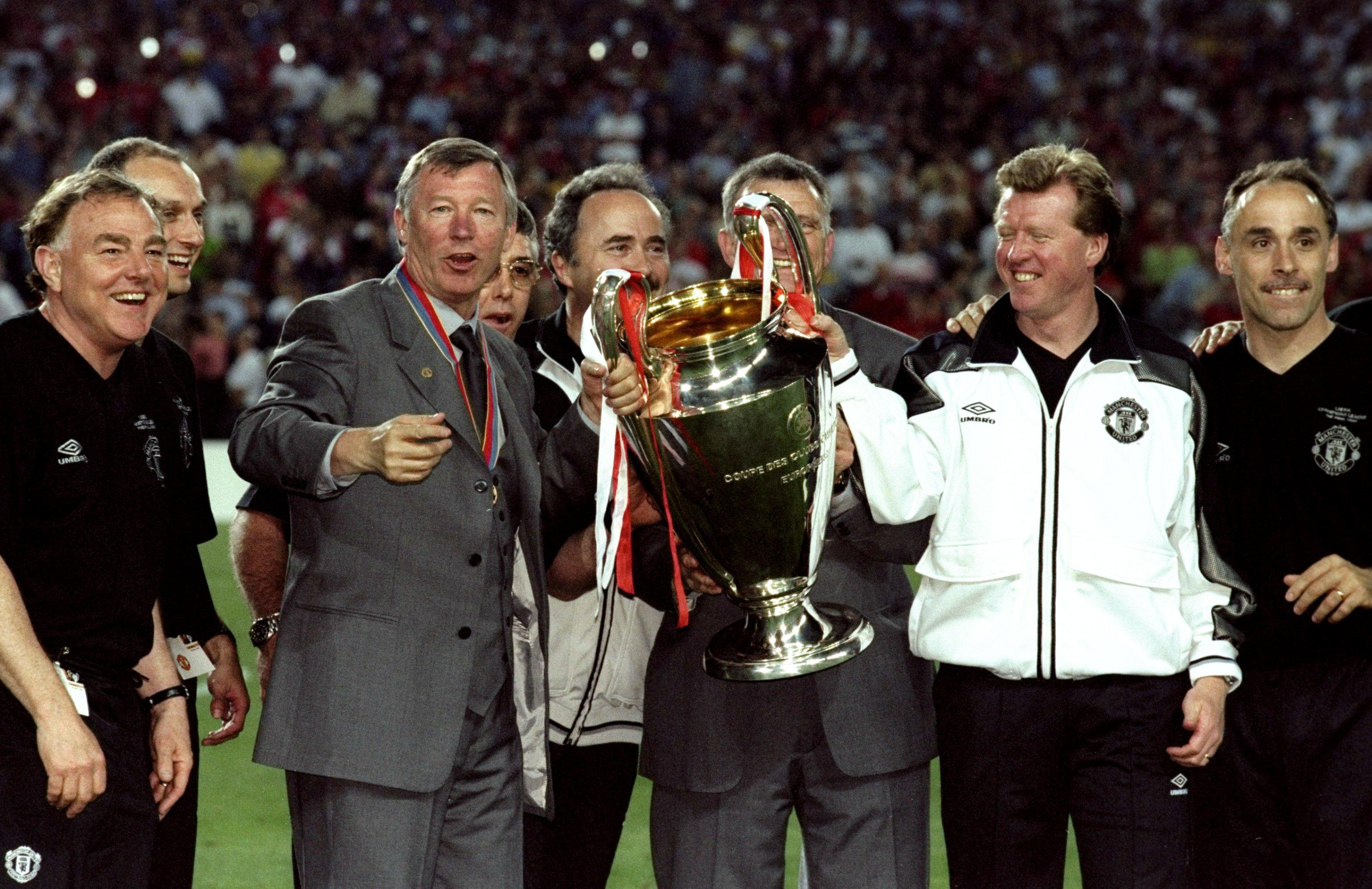 Steve McClaren was part of Sir Alex Ferguson's backroom team that guided Man United to Champions League success