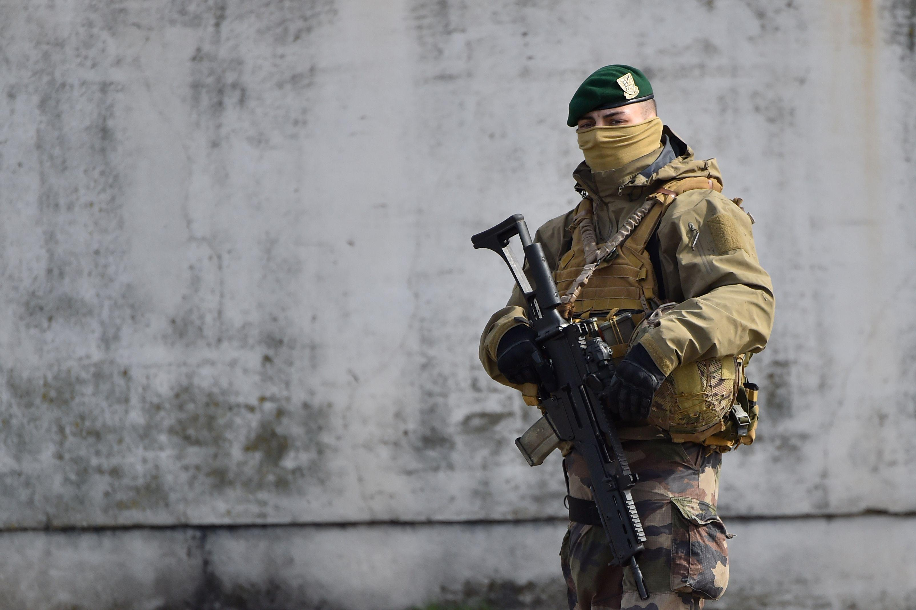 French army special forces will police the event