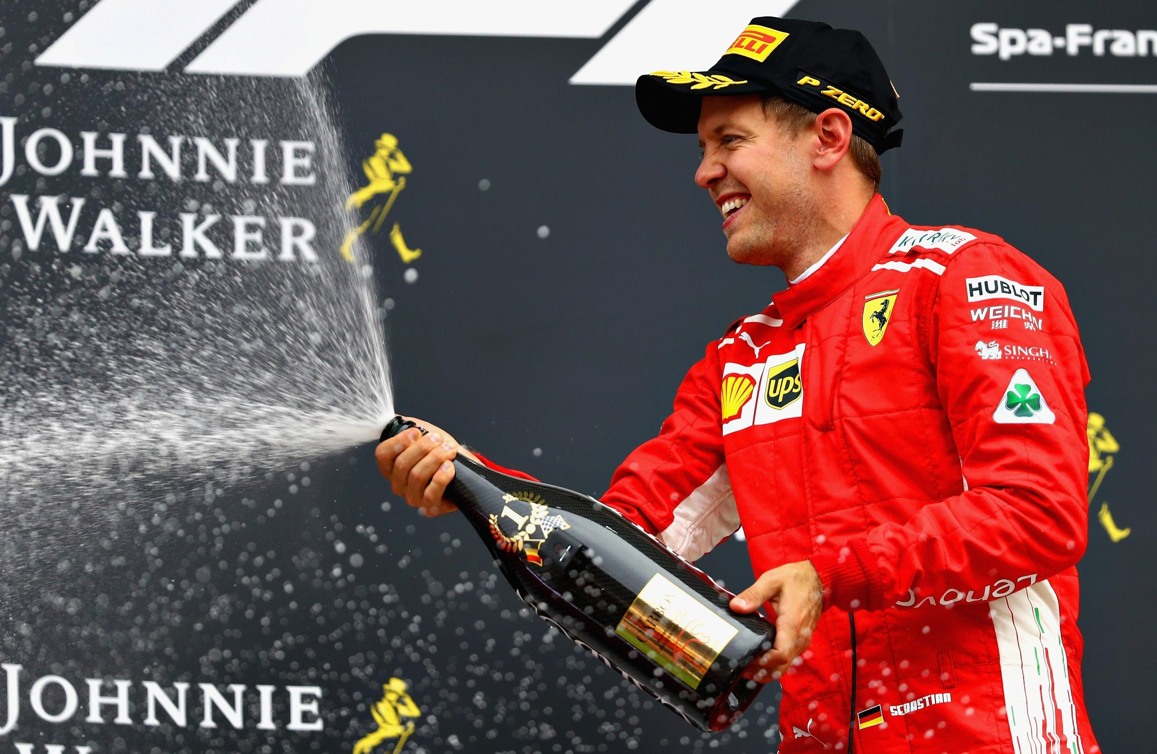 The German heads into the Italian GP on the back of a win in Belgium