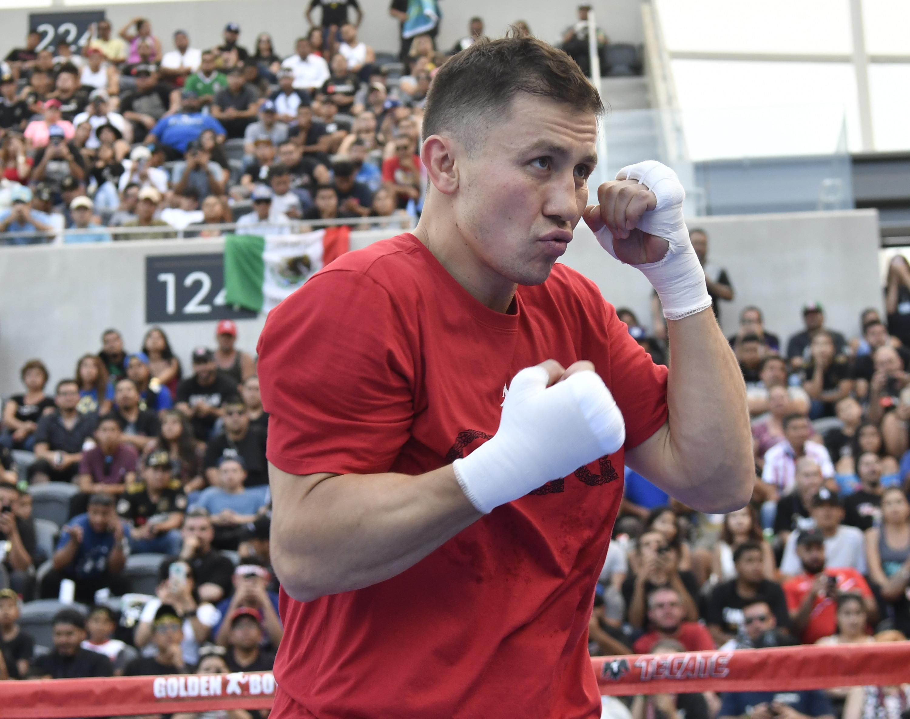 Gennady Golovkin was quick to take the first verbal jab