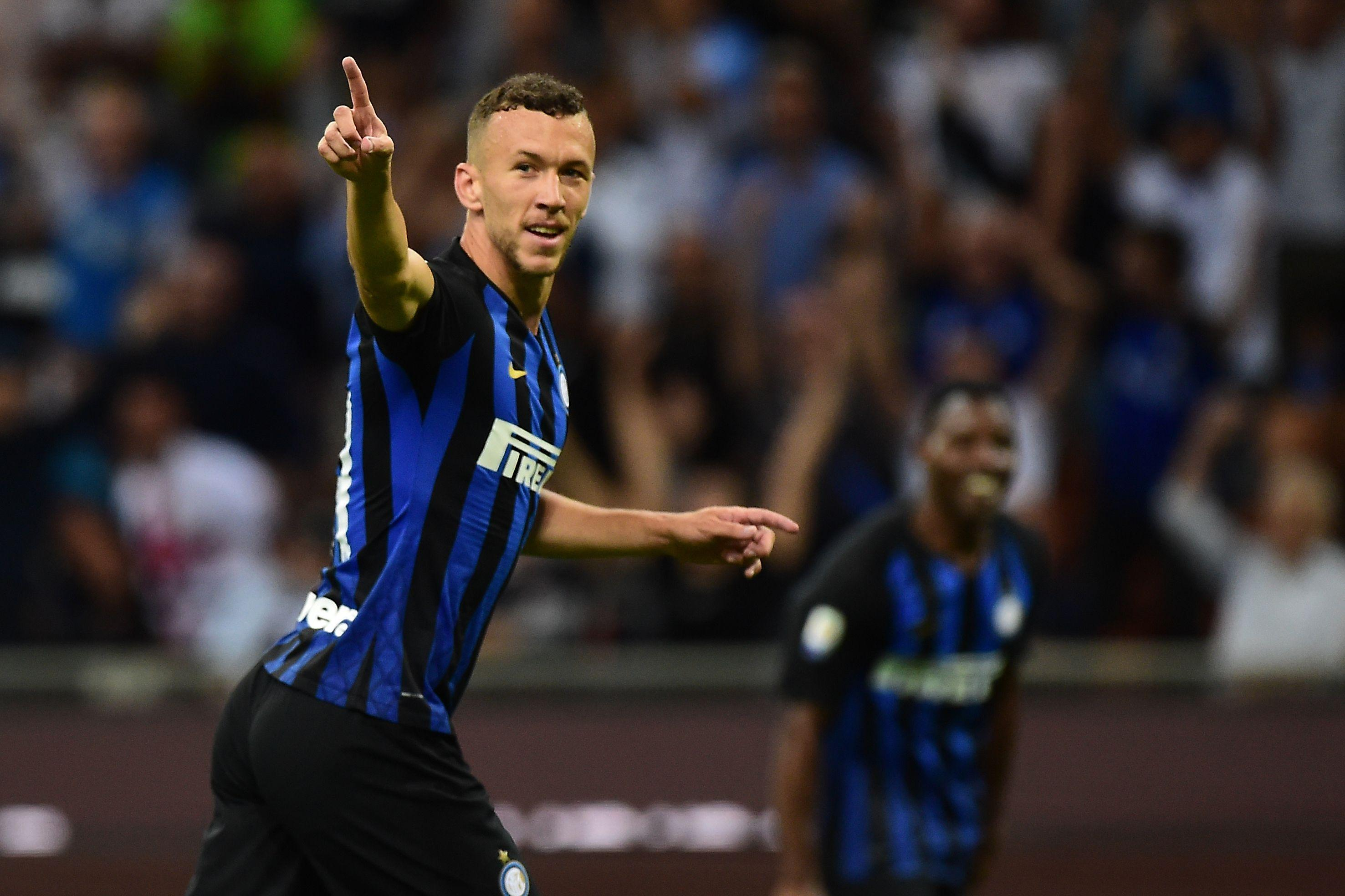 Ivan Perisic scored to put Inter Milan 2-0 up against Torino, but they were pegged back for a draw