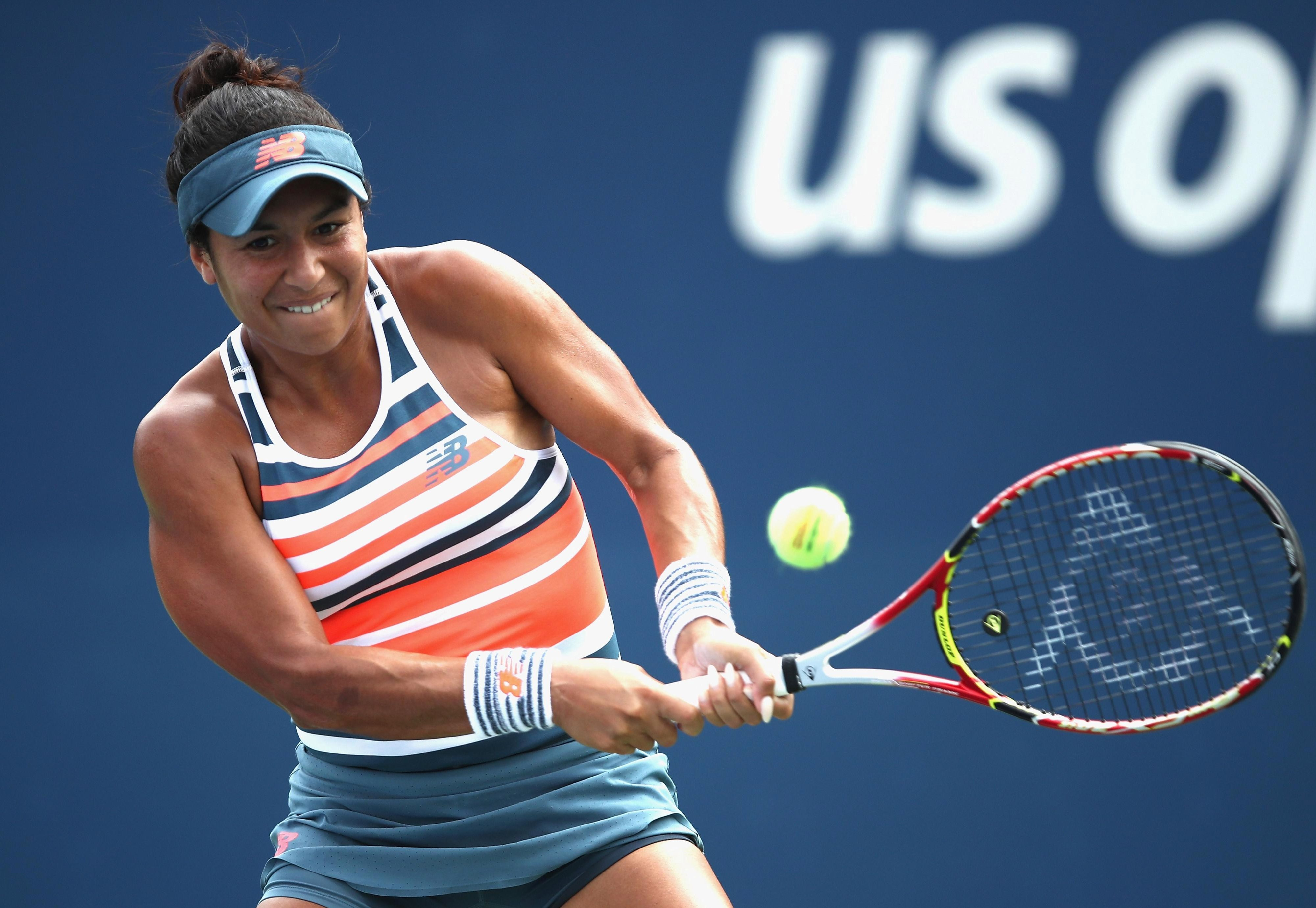 Heather Watson is not being shown on Amazon's coverage of the US Open