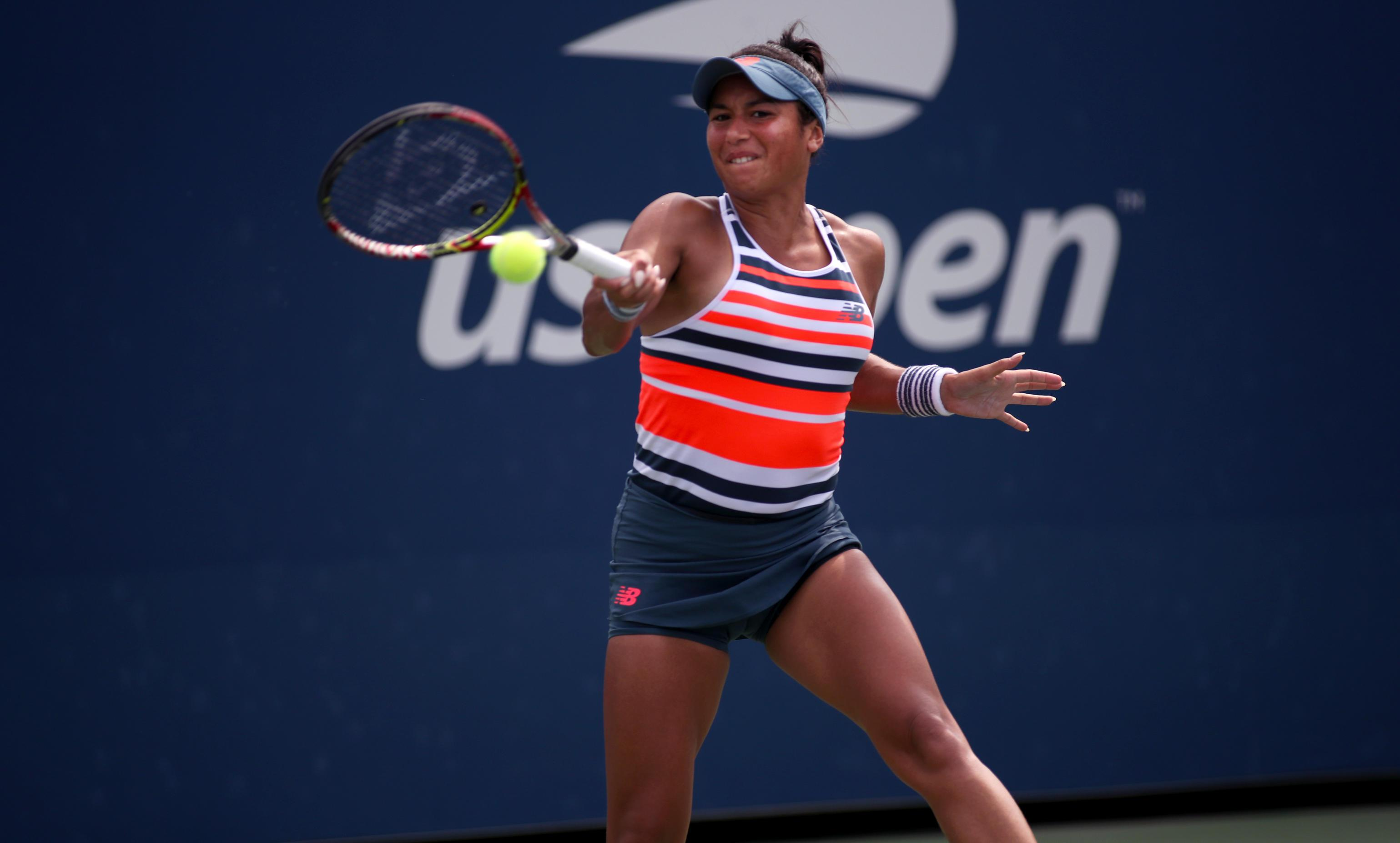 Supporters were unhappy that they could not watch Heather Watson's match with Ekaterina Makarova