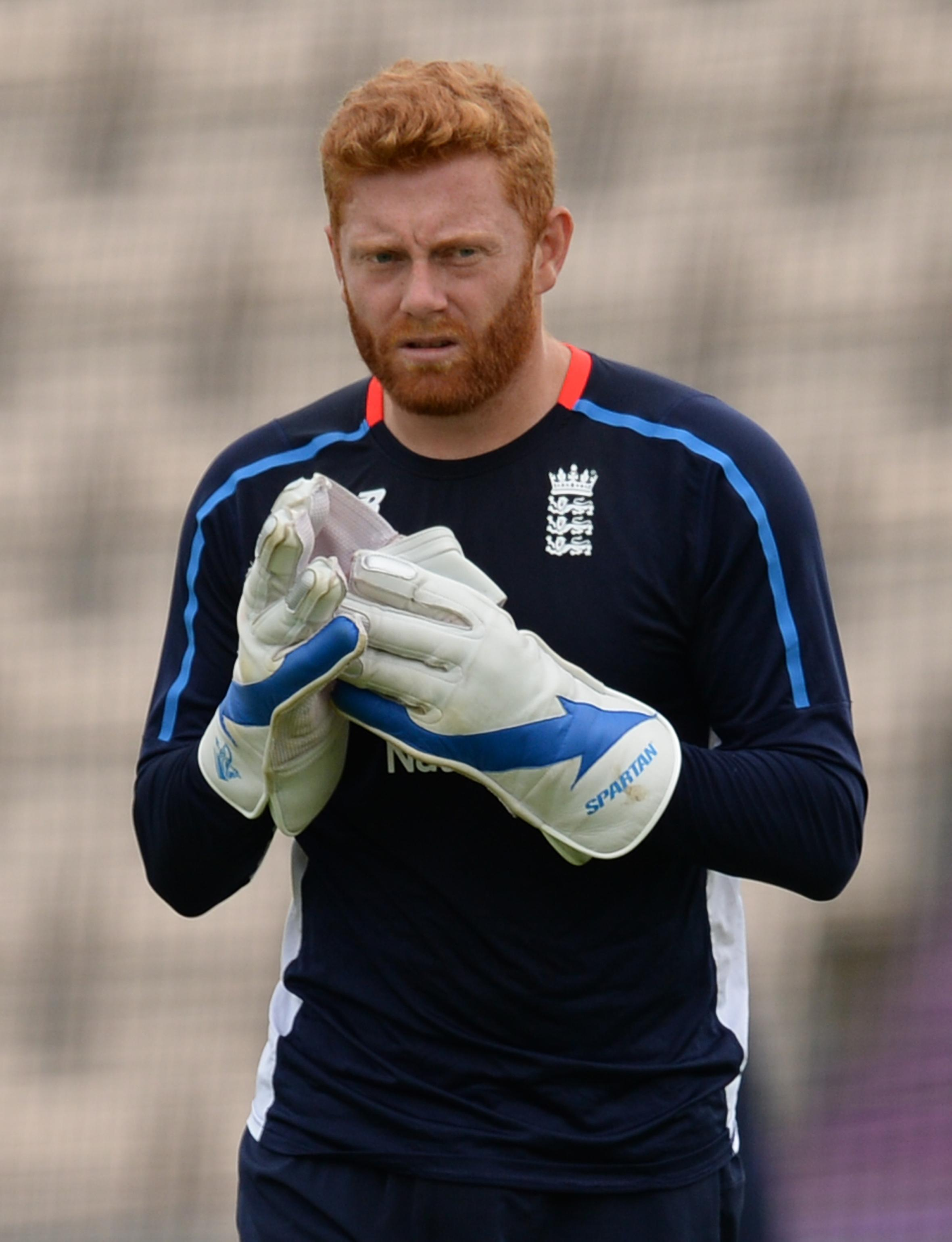 Energetic Bairstow is desperate to hold onto his role as England's wicketkeeper