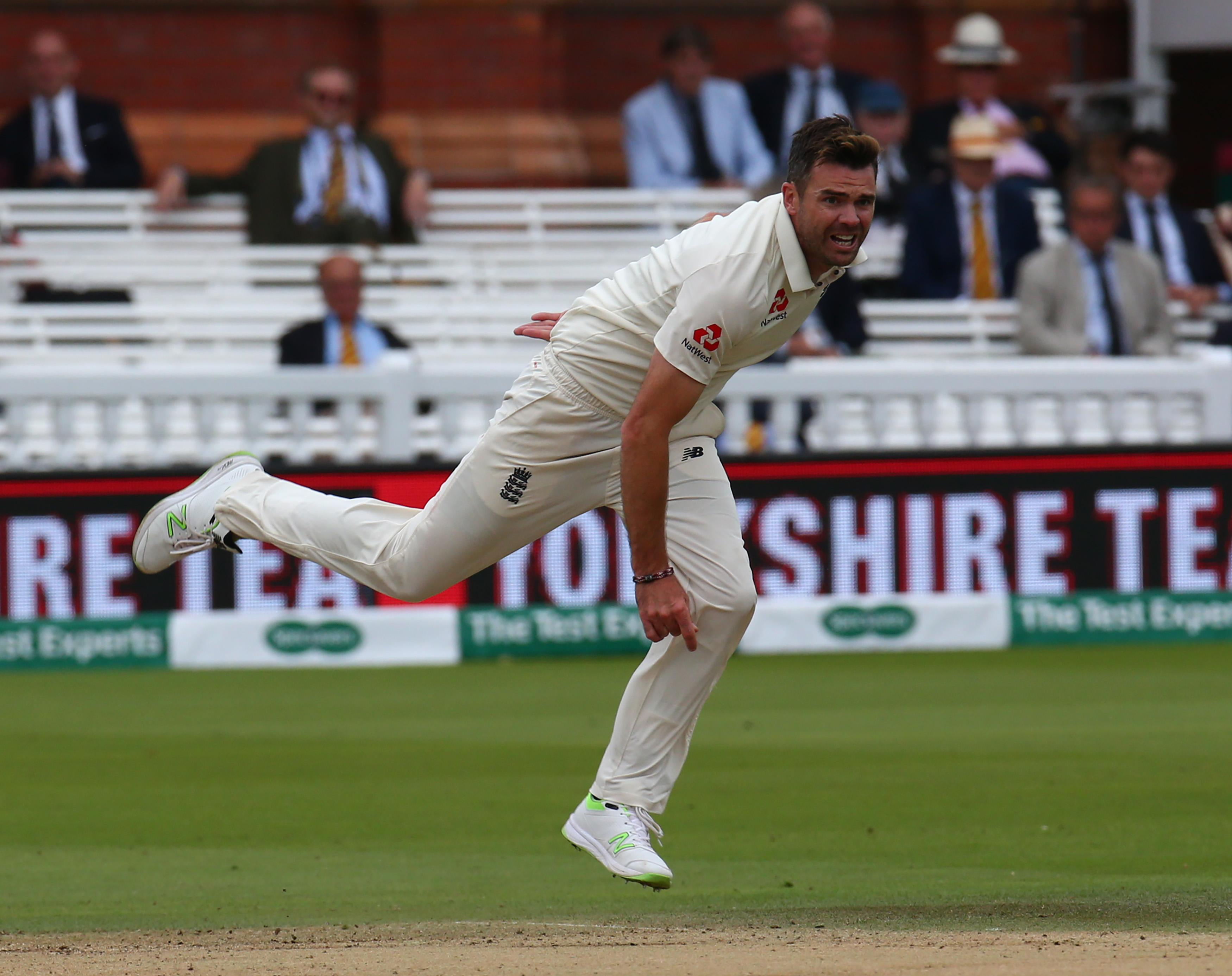 James Anderson is enjoying one of the best stints of his career despite his age